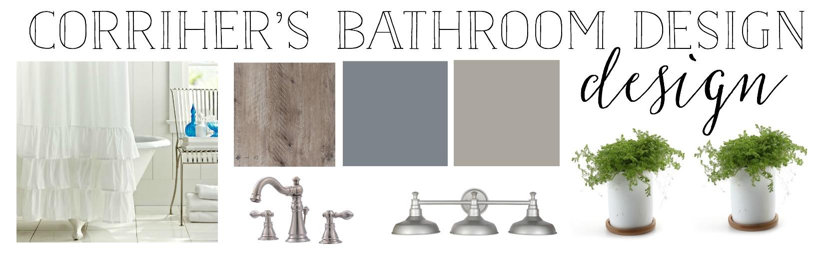 The Simple Abode's Interior Design Project- Bathroom Design- By Plum Pretty Decor and Design