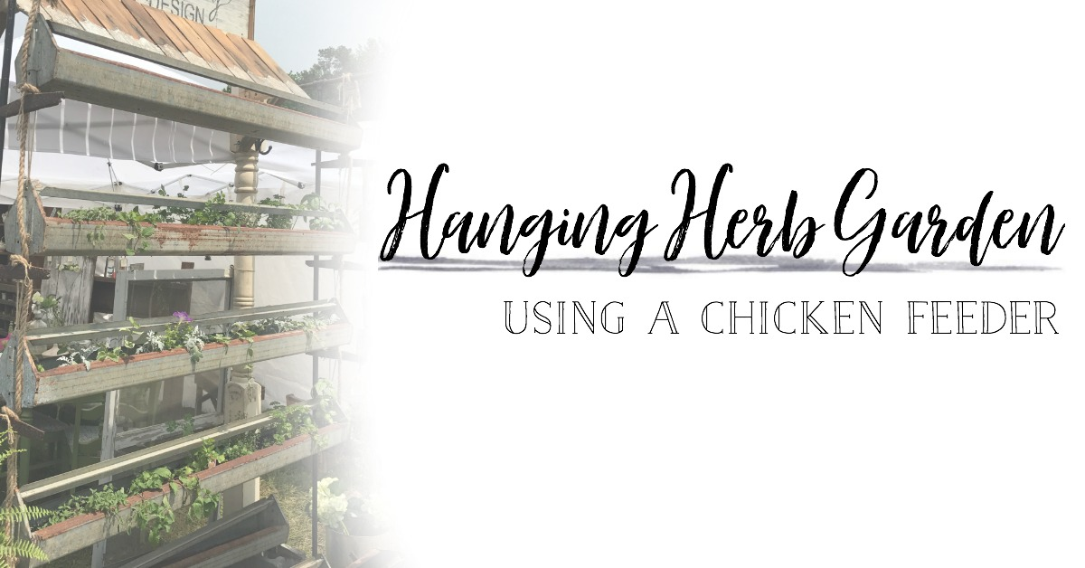 Learn how to create your very own hanging herb garden with Plum Pretty's easy DIY tutorial