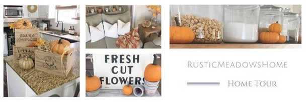 Fall into our Homes- Home Tour- Rustic Meadows Home