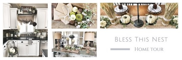 Fall into our Homes Tour- With Bless This Nest
