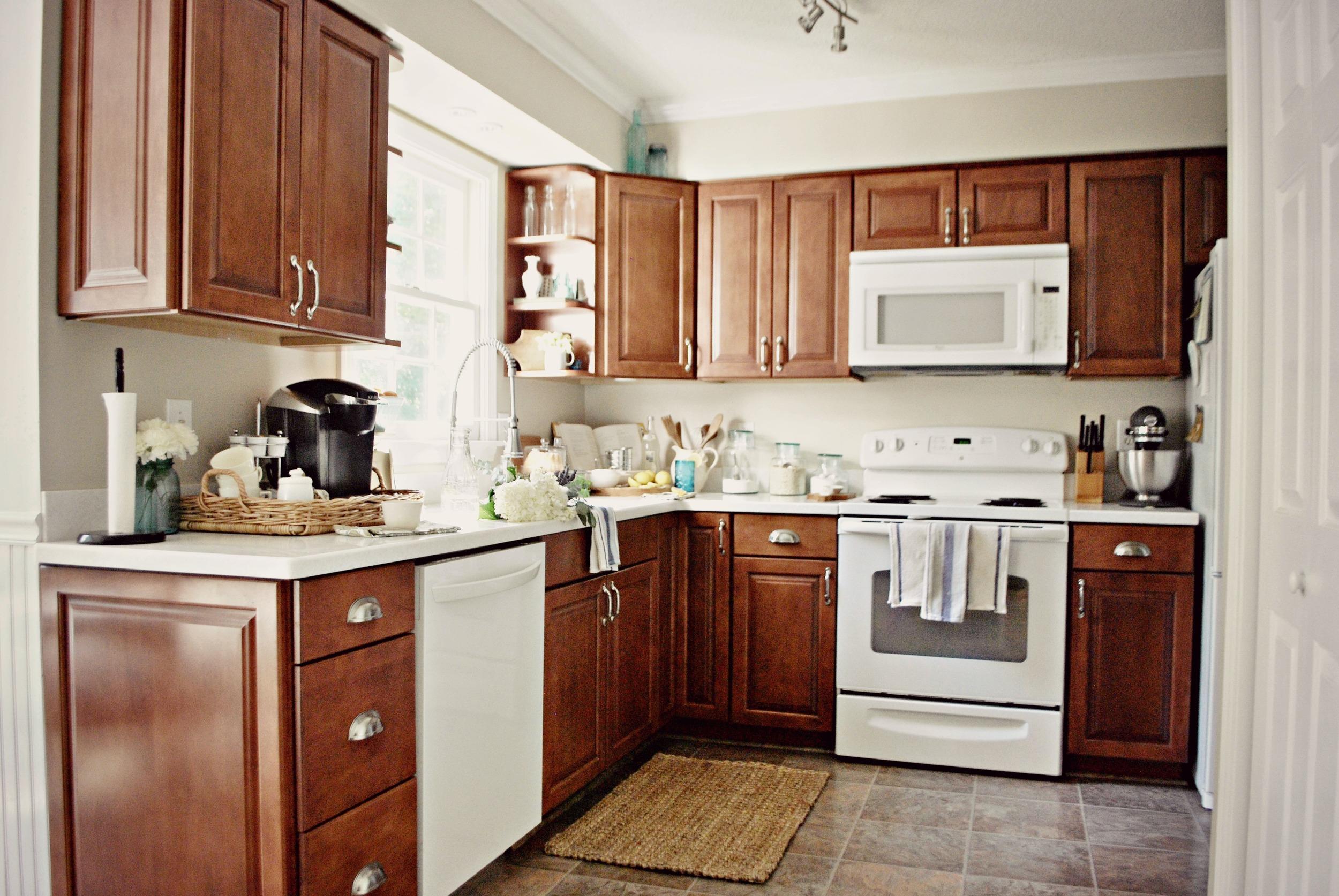 Plum Pretty Decor & Design Co.Painted Kitchen Cabinets ...