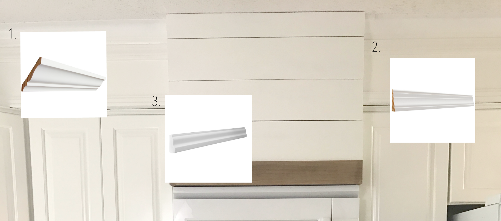 Adding Moulding to Soffit to Extend Cabinets- Top of Cabinets Remodel