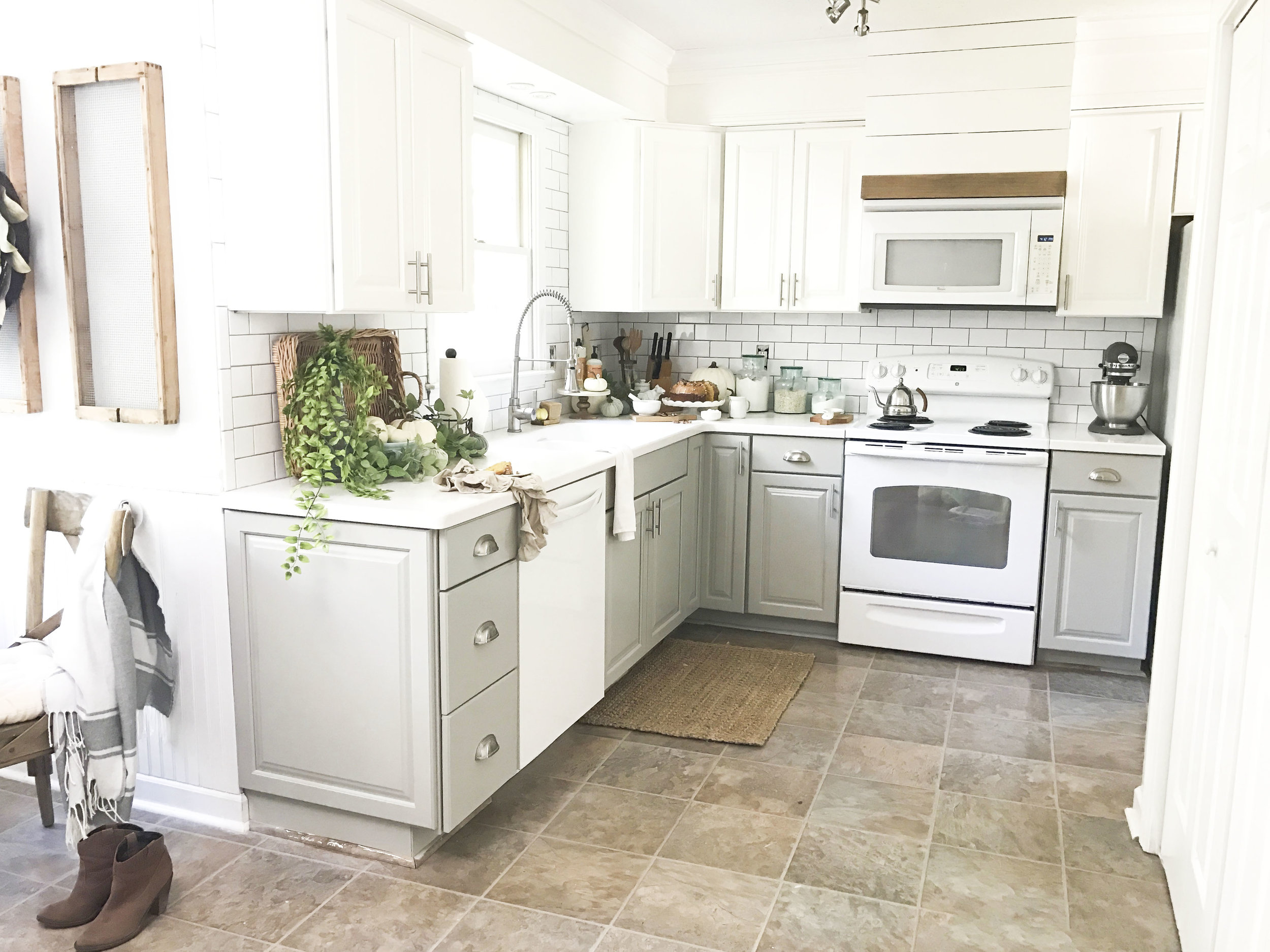 Plum Pretty Decor Design Co Painted Kitchen Cabinets Budget