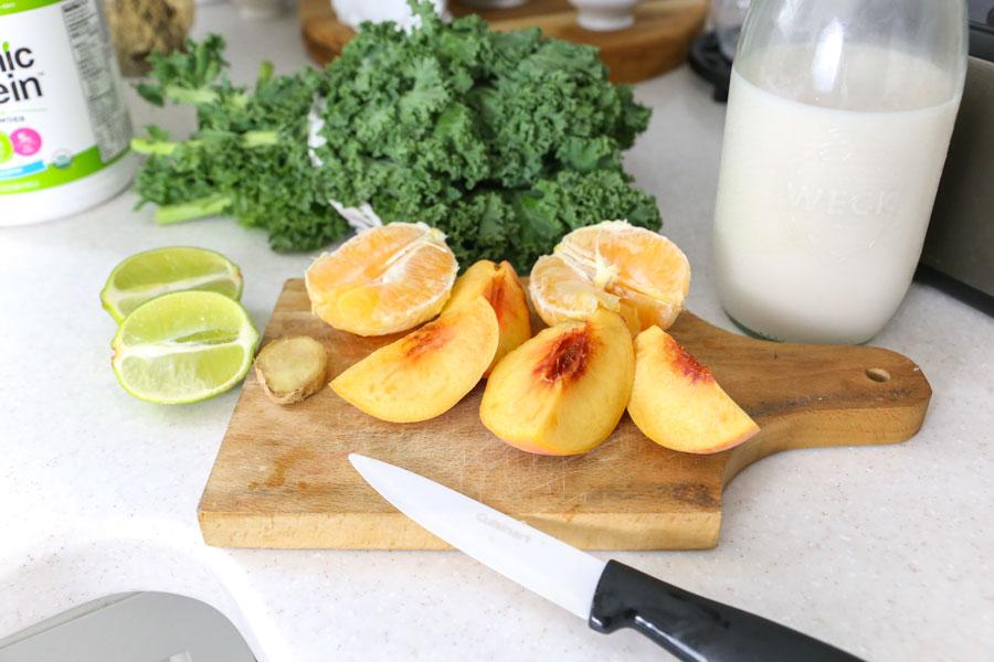 Citrus_Peach_Green_Smoothie_Recipe_Web.jpgHealthy Peach Citrus Green Smoothie Recipe