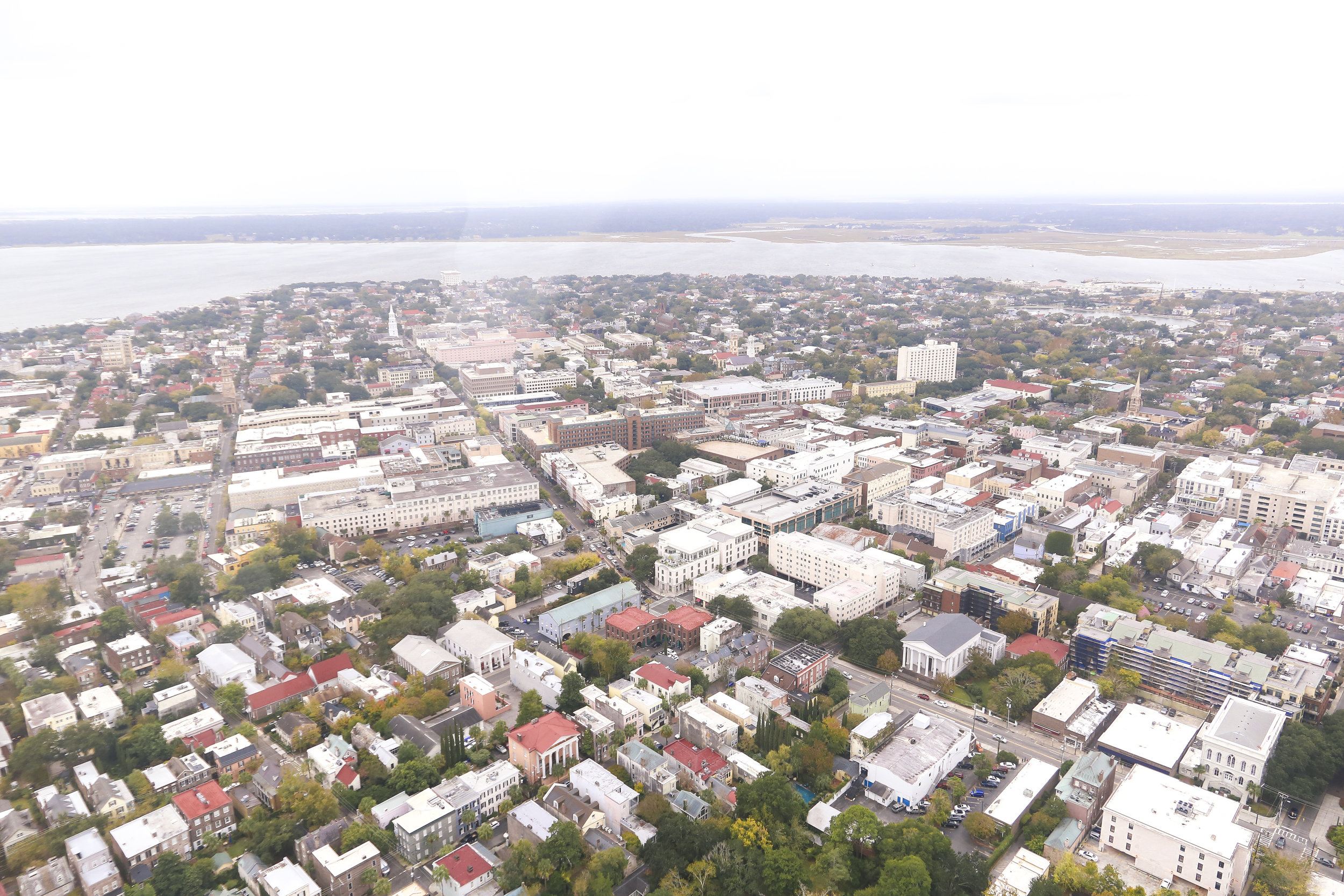 The Best of Charleston Weekend Getaway- View the city from above with a Helicopter tour.