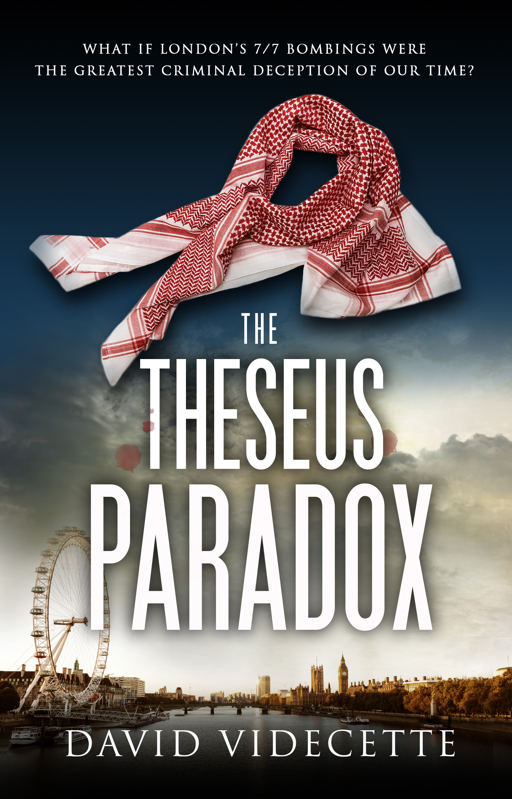 The Theseus Paradox book cover page