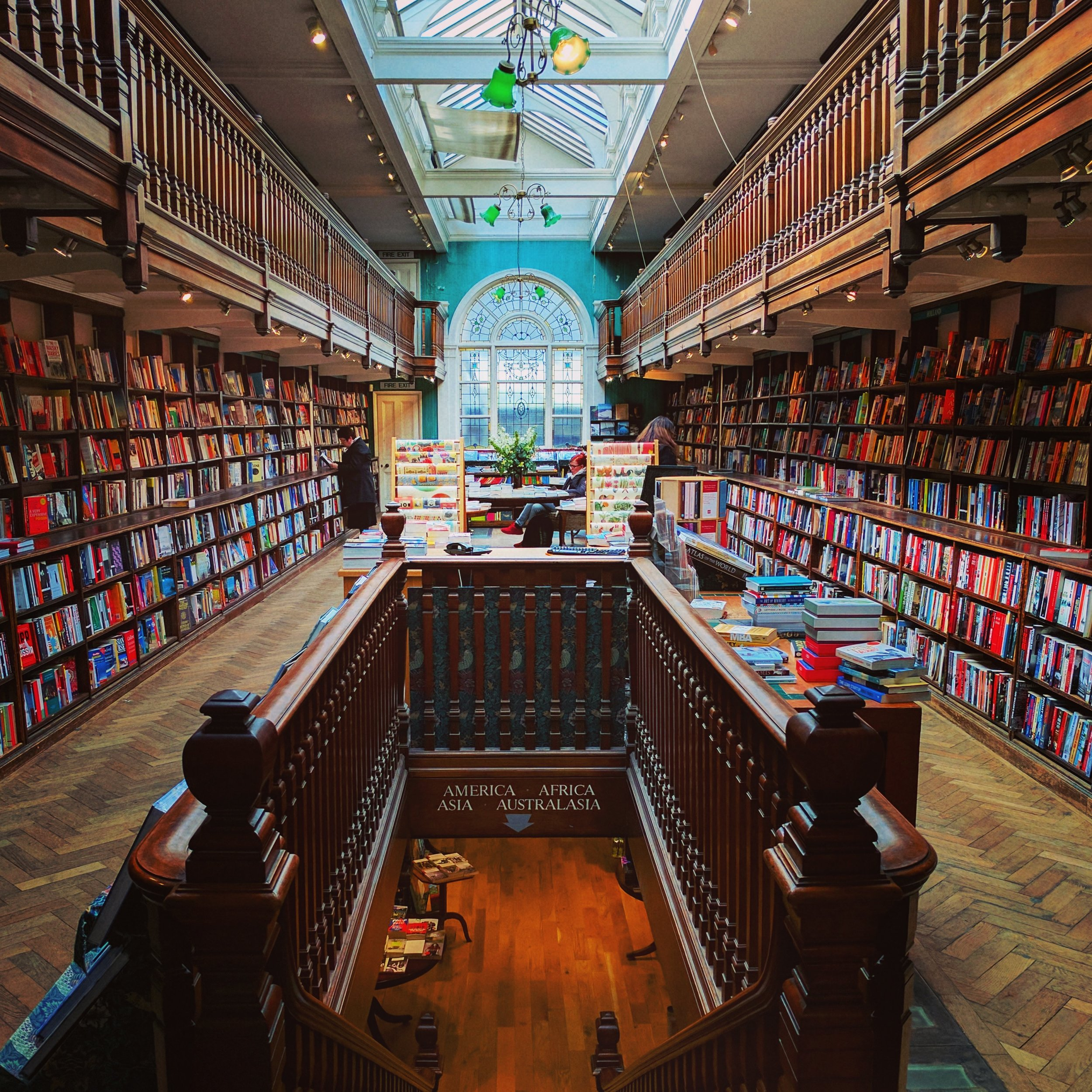 Daunt Books, where James Daunt started out his bookselling career before becoming Waterstones' managing director.
