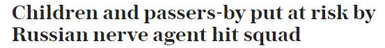 29 March 2018 Skripal Salisbury Telegraph DV coverage headline.JPG