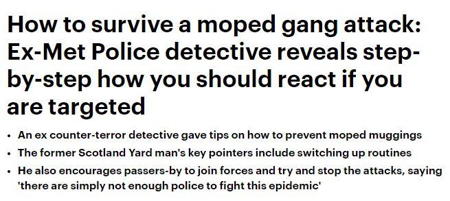 Daily Mail headline moped crime june 2018.JPG