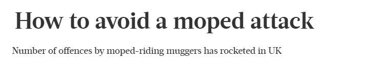 Headline moped crime The Week june 2018.JPG