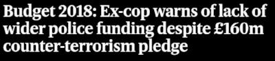 Evening Standard budget - headline 31 Oct 2018.JPG