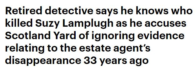 Mail Online headline - Lamplugh 33rd anniversary piece.JPG