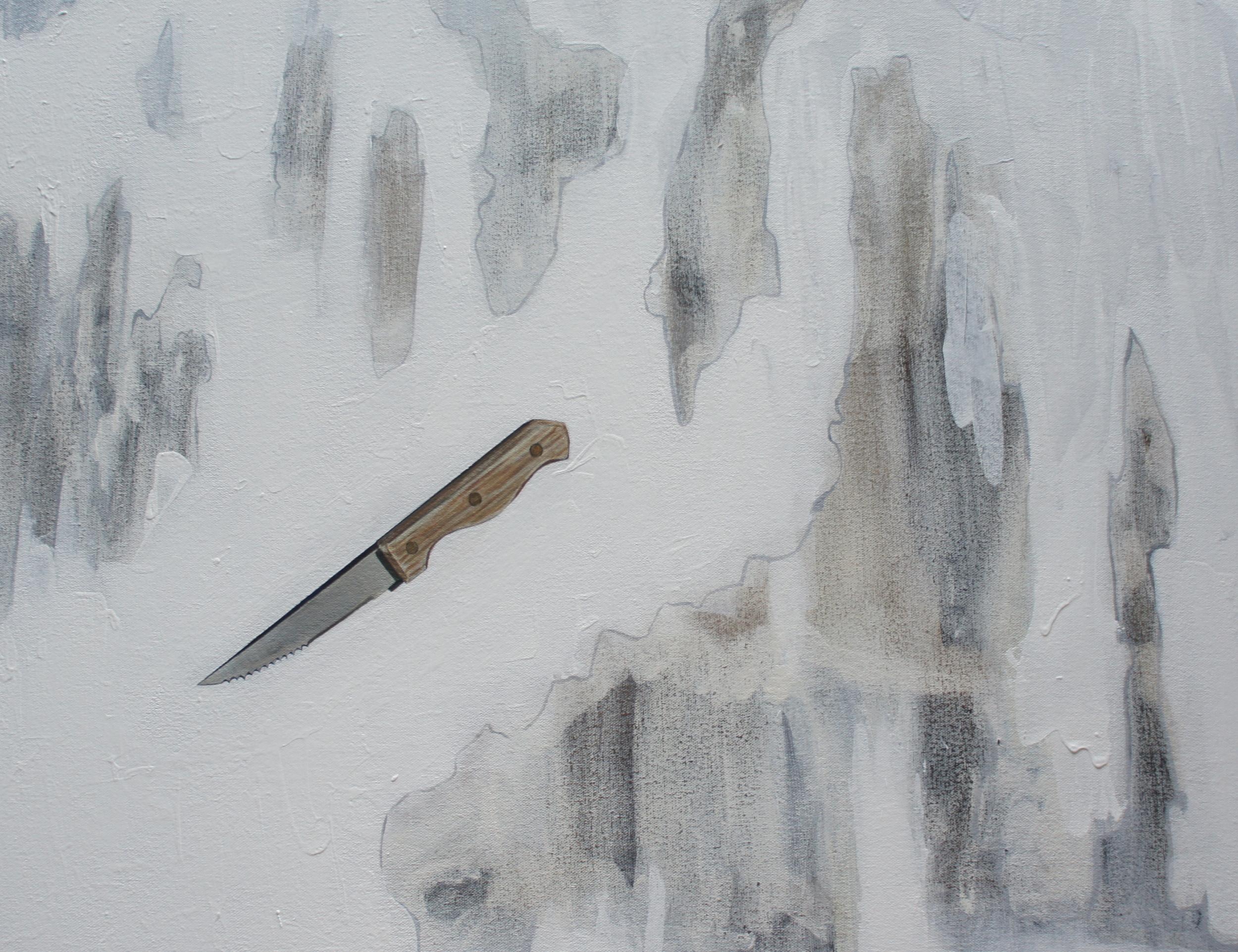 Voiding Knife In White