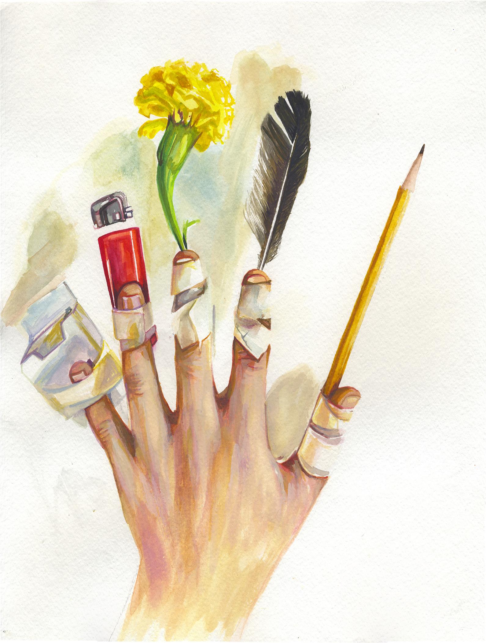 Utility Hand (Left)