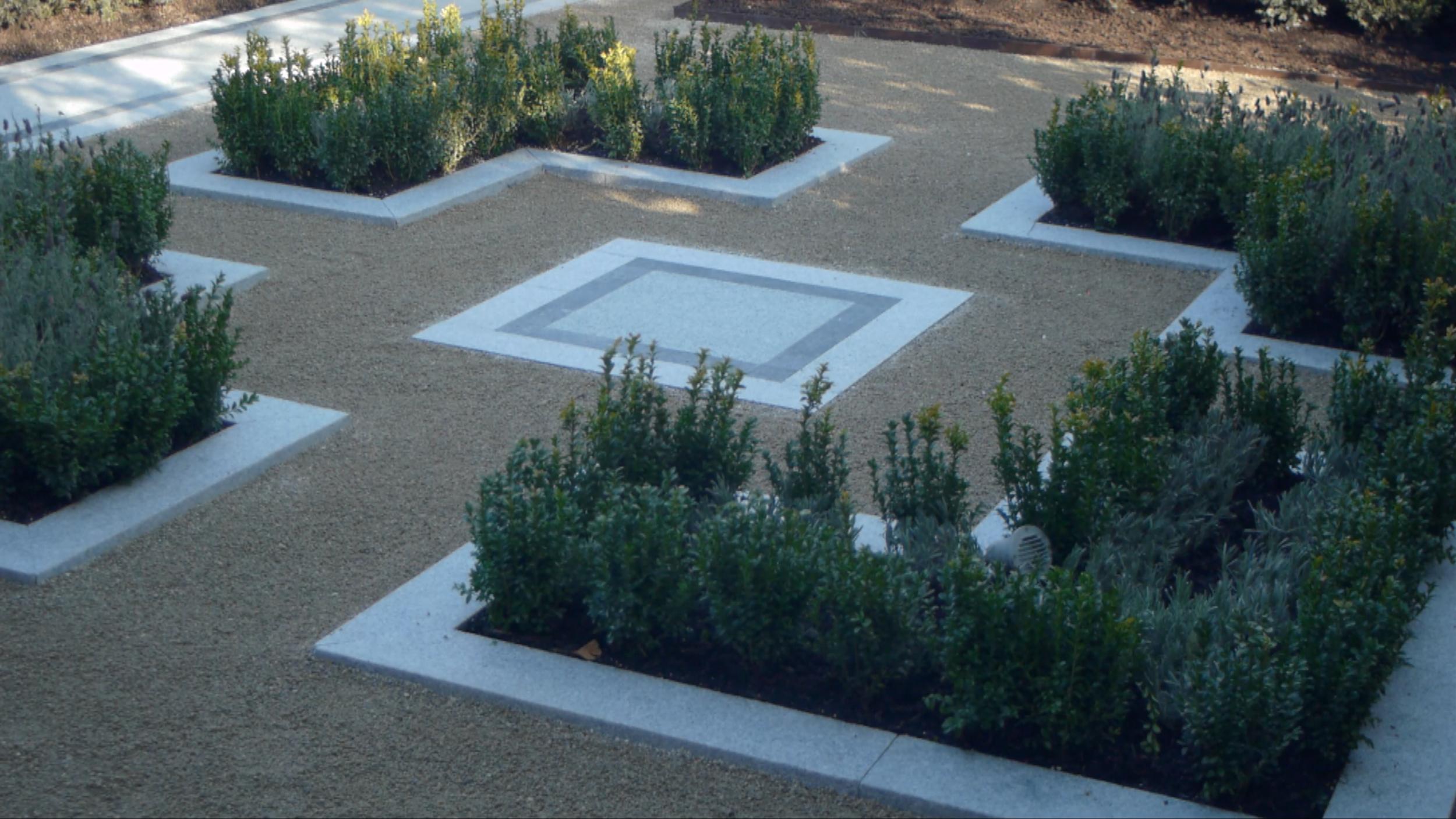 Silver Granite Garden Design