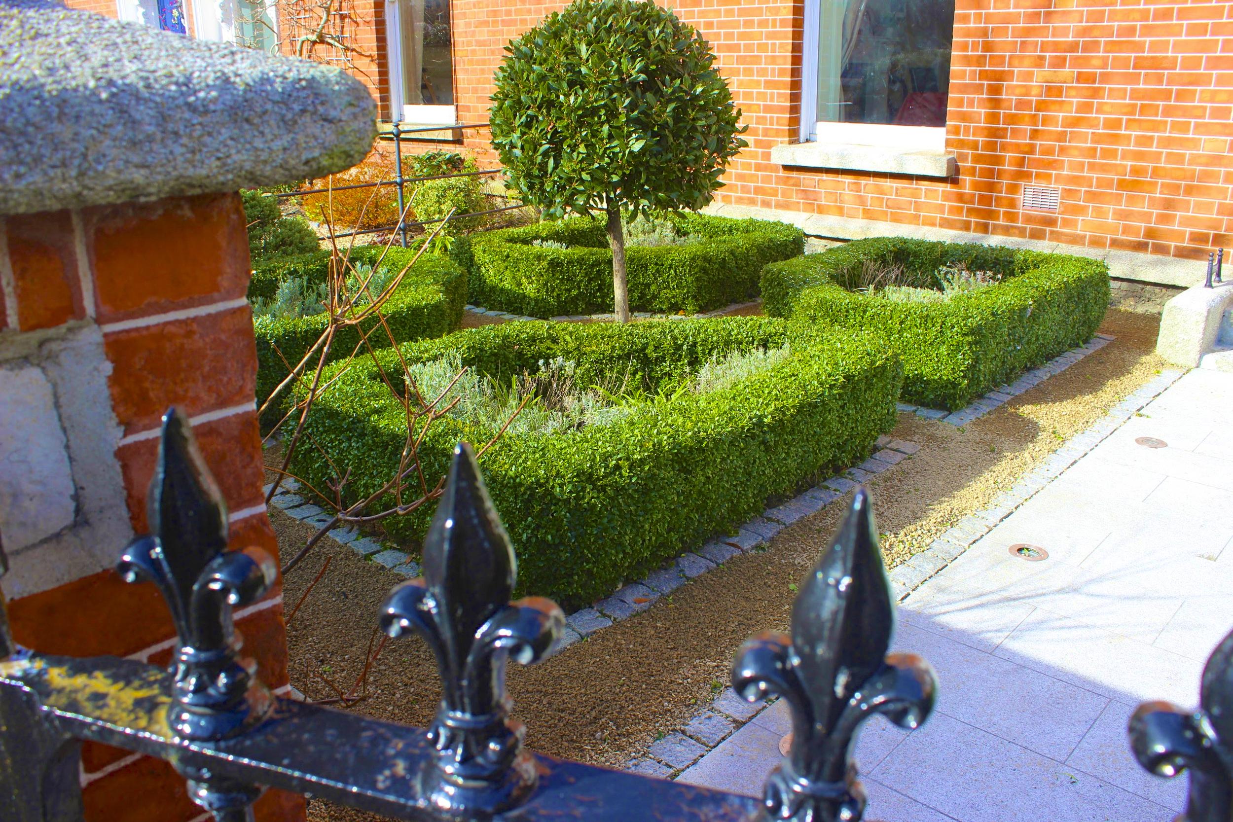 Formal Parterre garden design