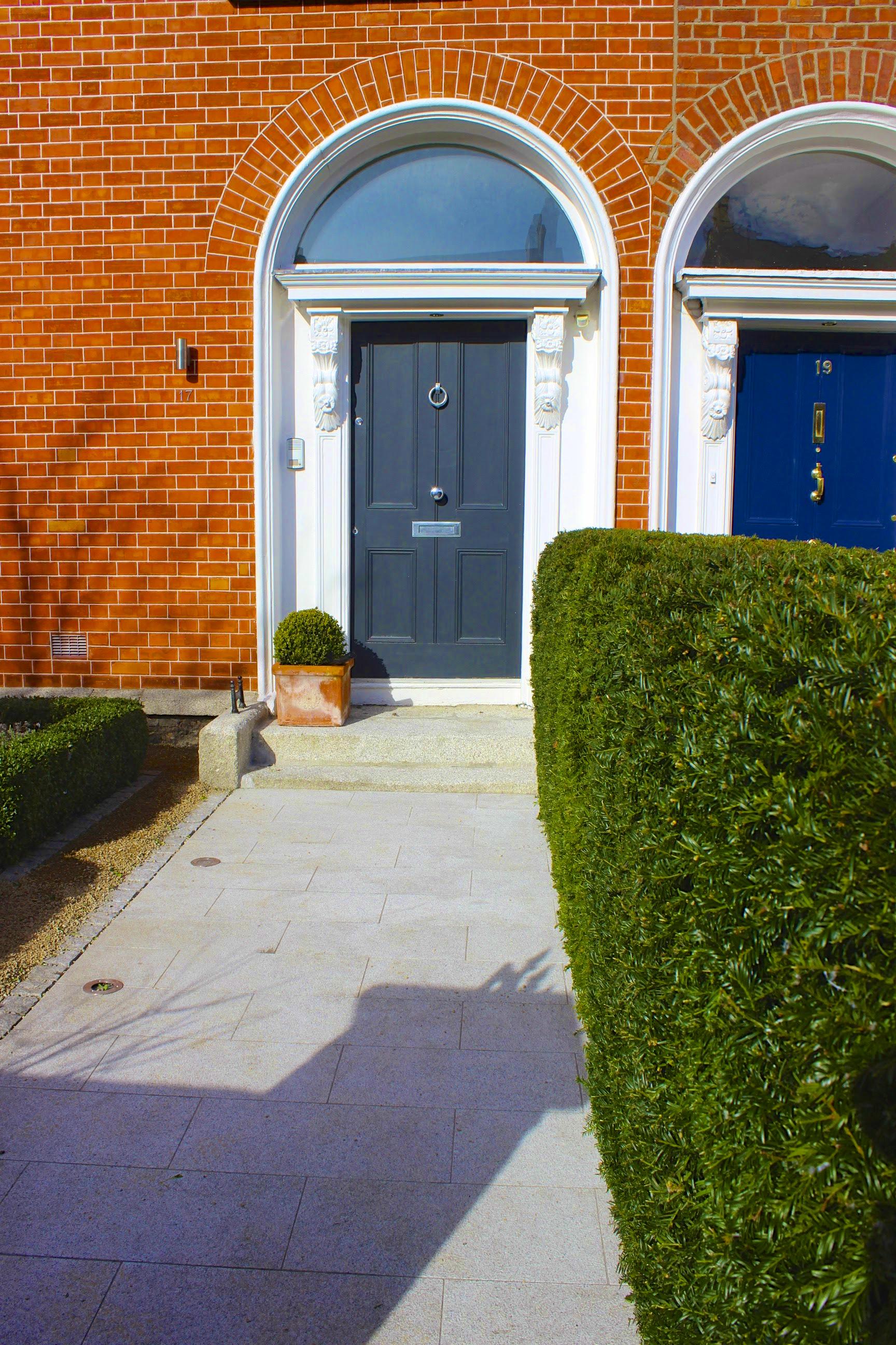 Garden Path to door