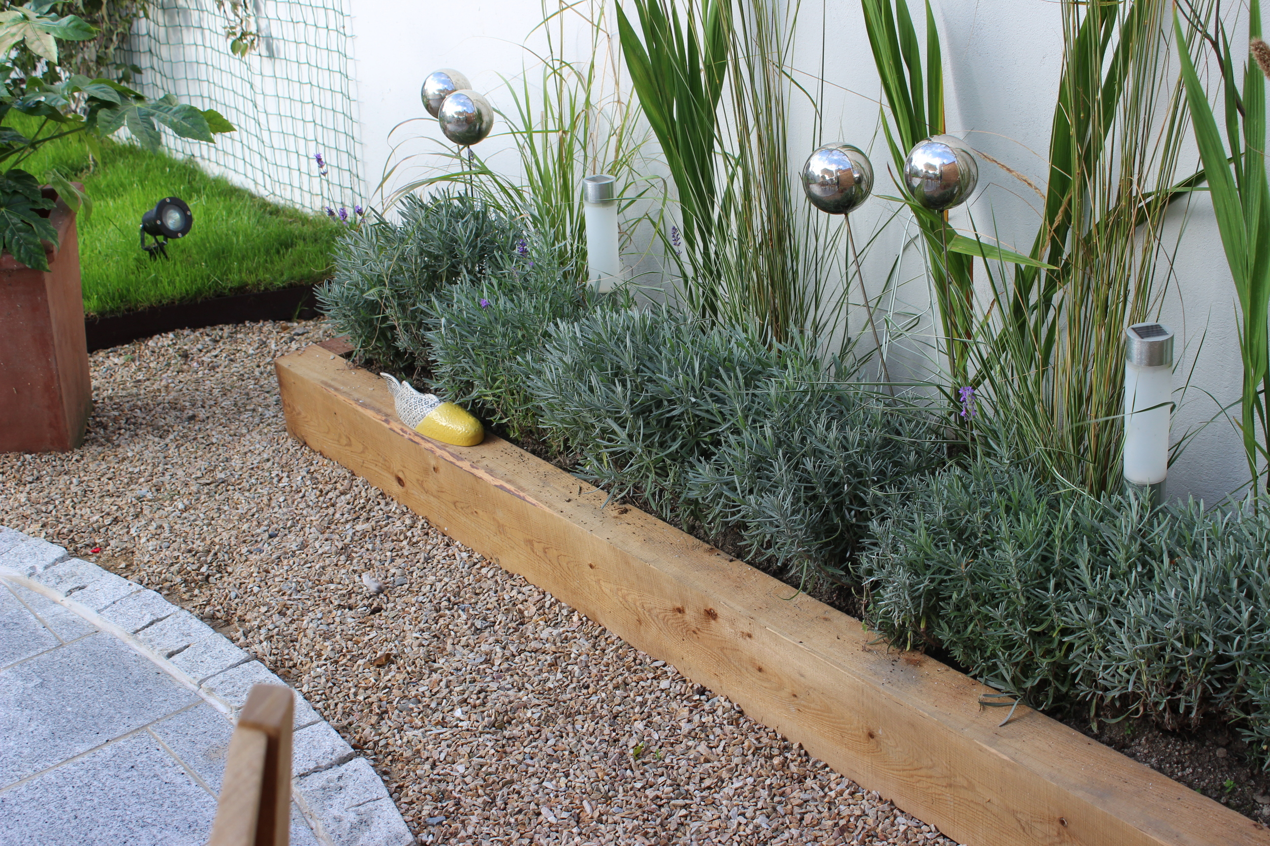 Sleepers and stipa grasses
