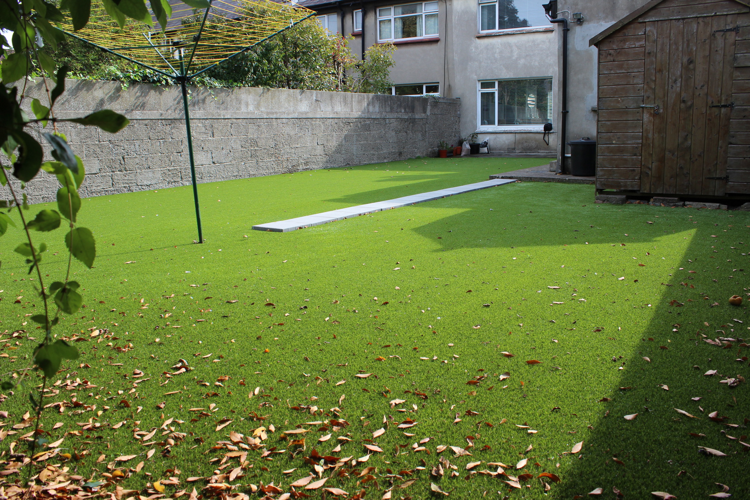 TigerTurf artificial grass 'Finesse Lite' installation