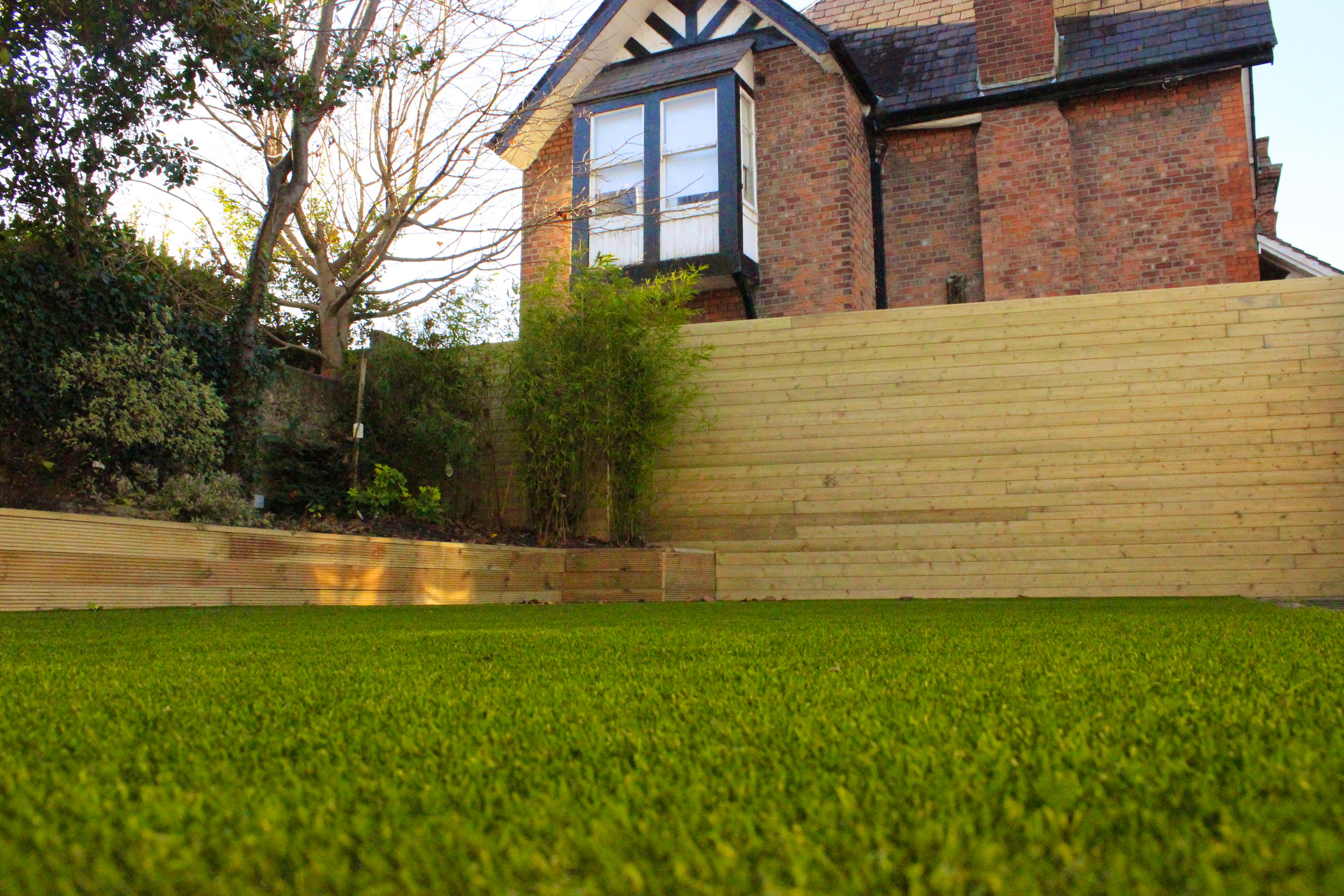 tigerturf vision Plus artificial grass installed