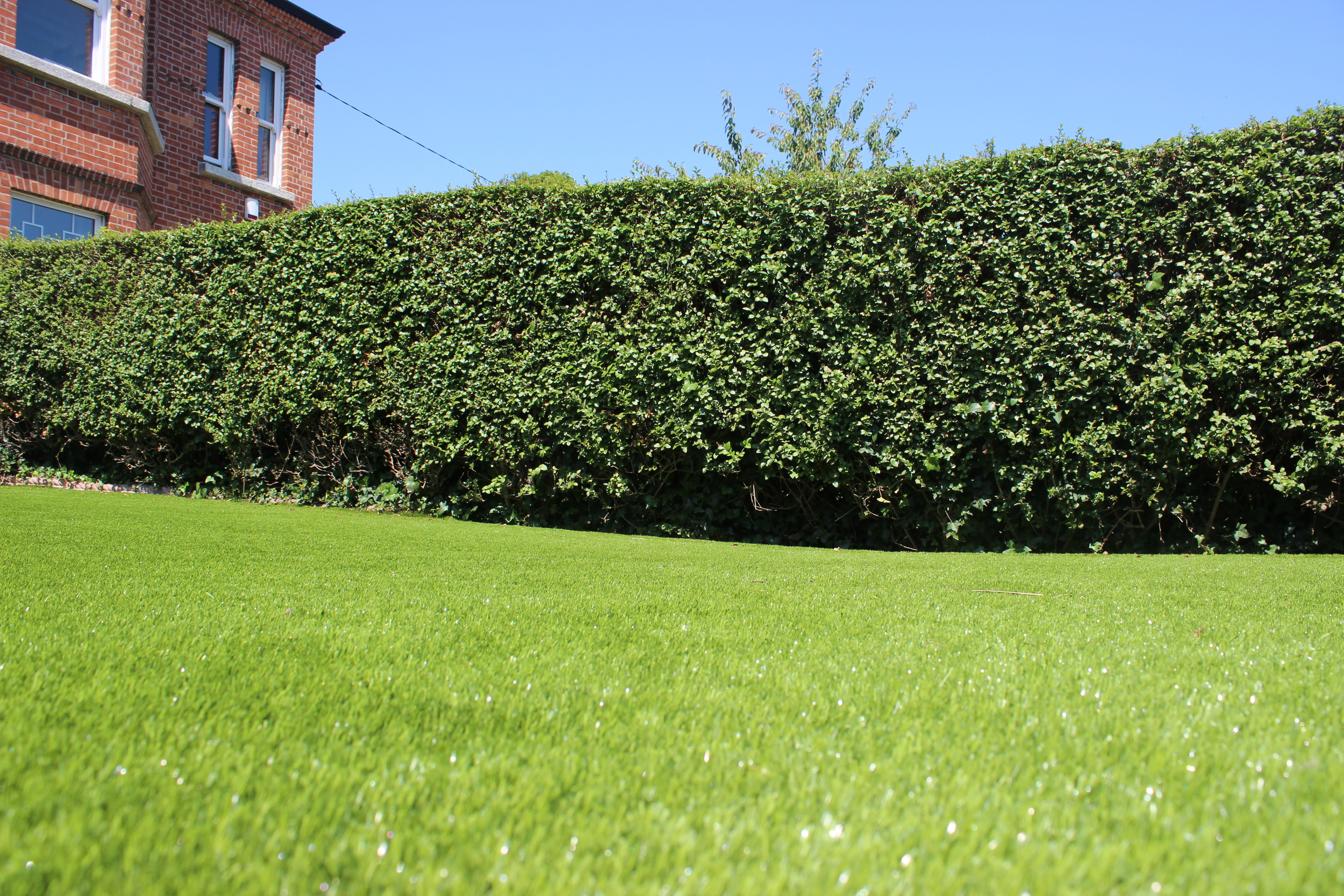 Artificial Lawn in Front Garden