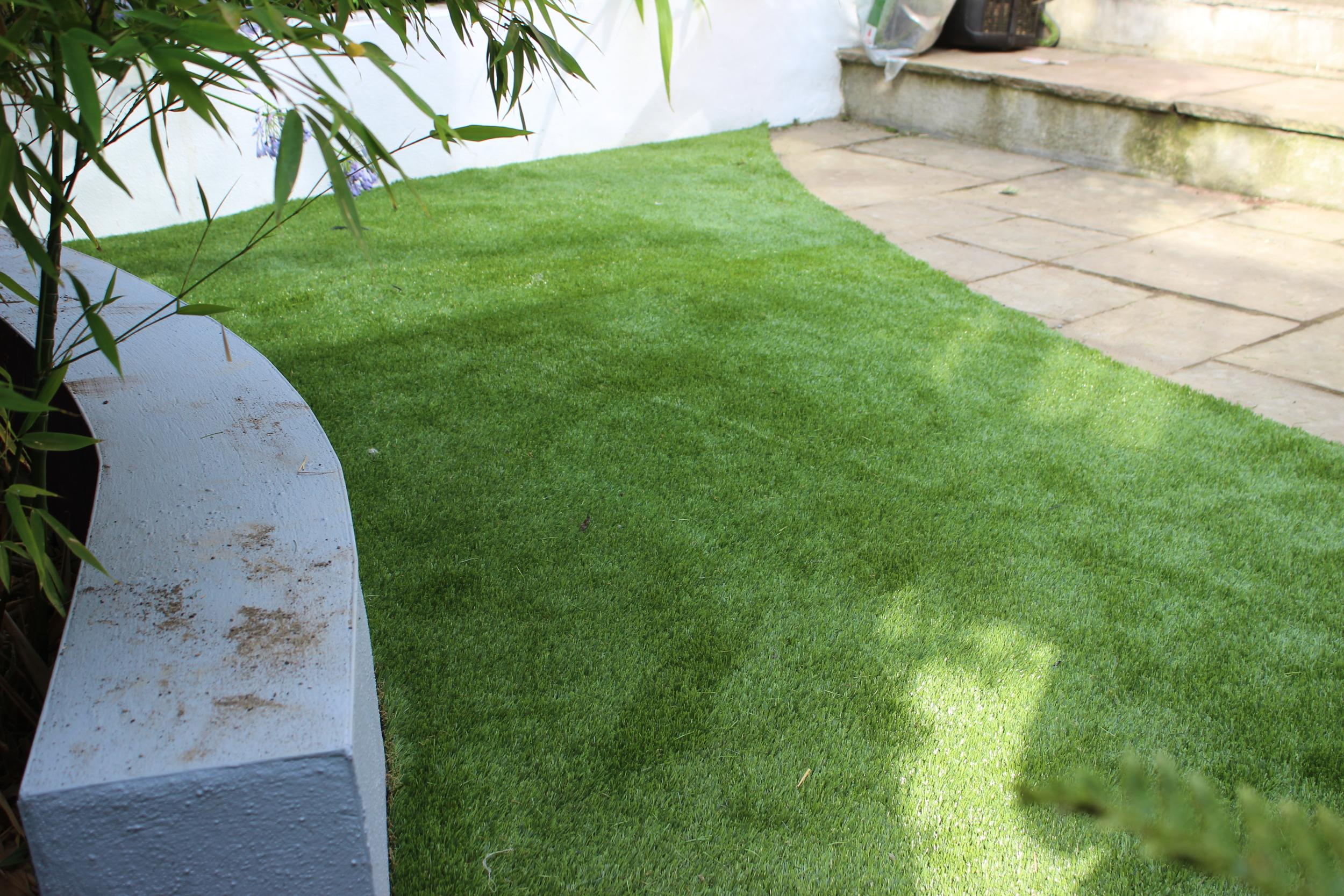 Small Artificial Lawn