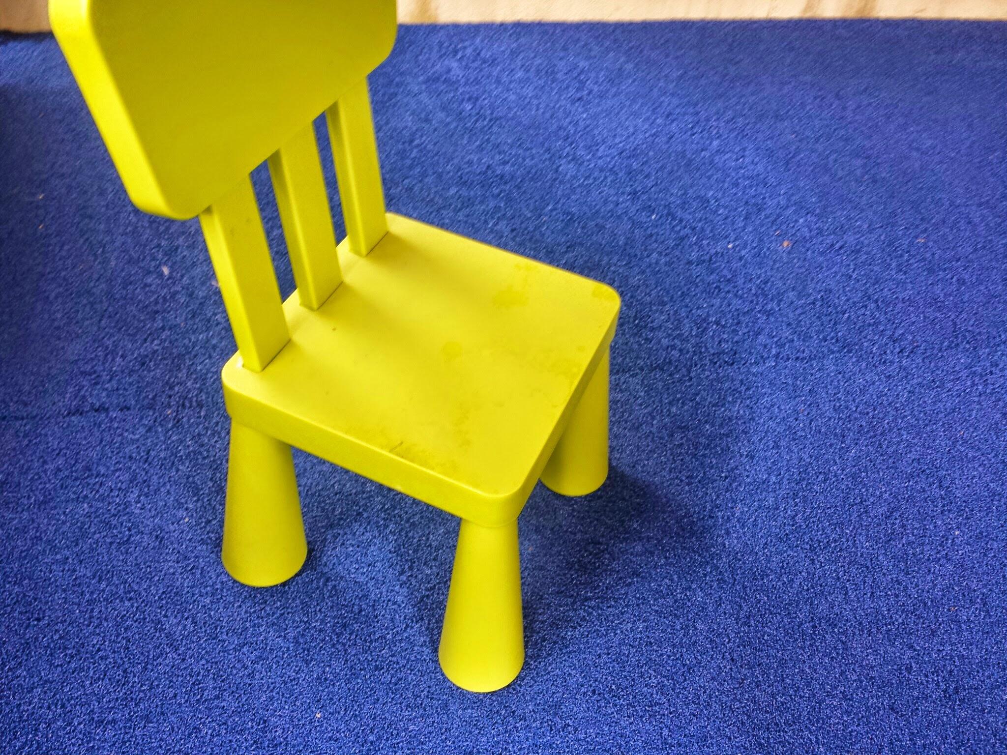 chair and bluegrass