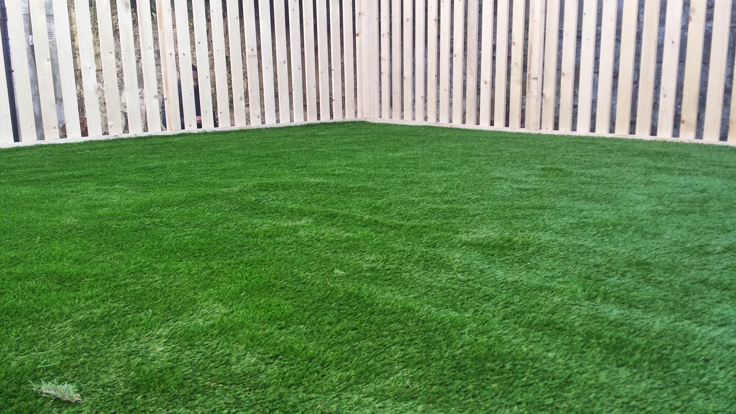 grass terrace turf
