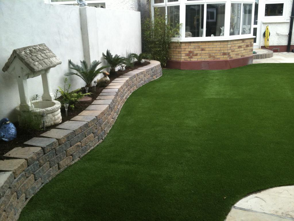Green Garden Lawn