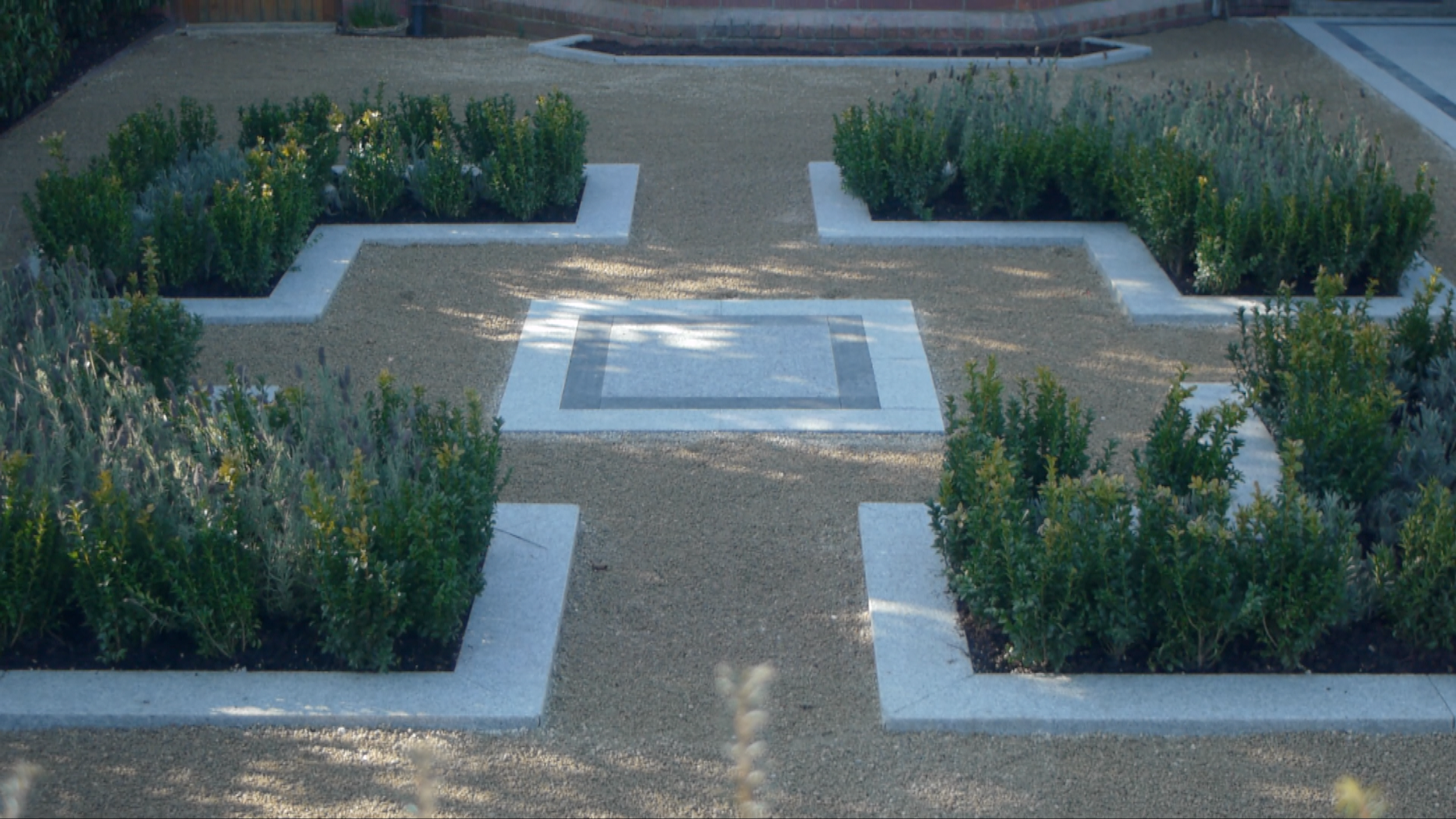 Symmetrial Garden Design
