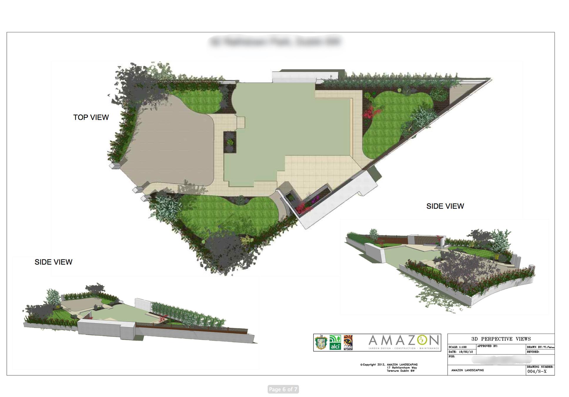 2D and 3D Garden Design presentation
