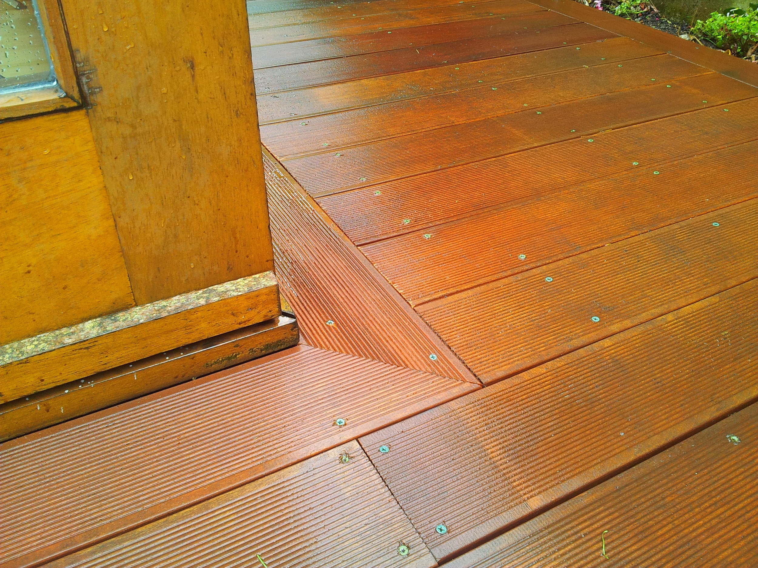 Hardwood Garden decking