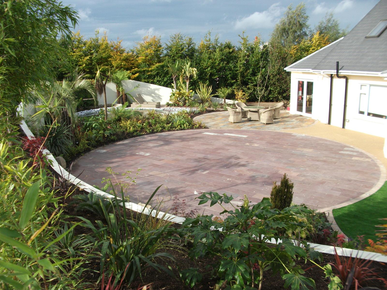 a rural Garden design