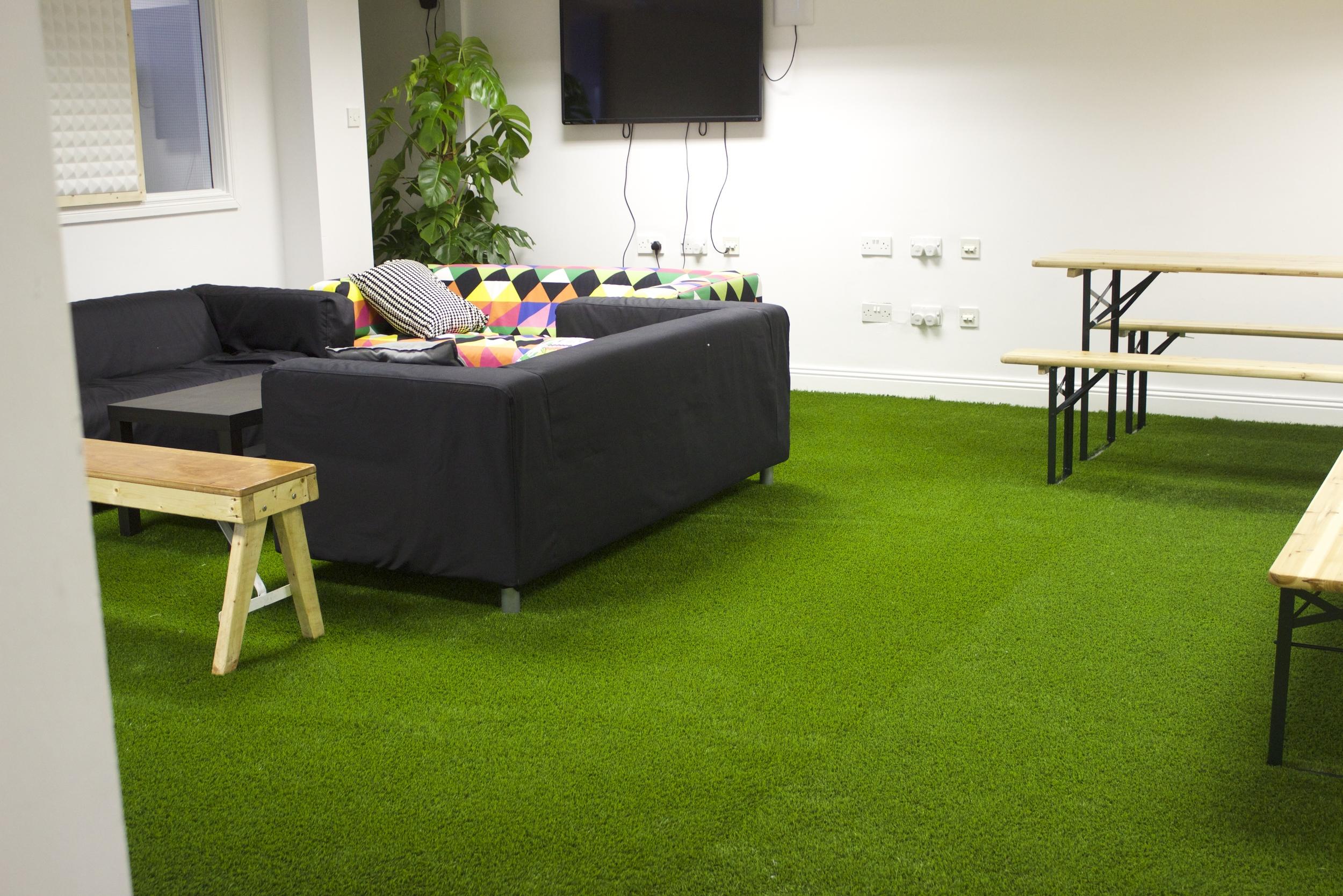 office lawn