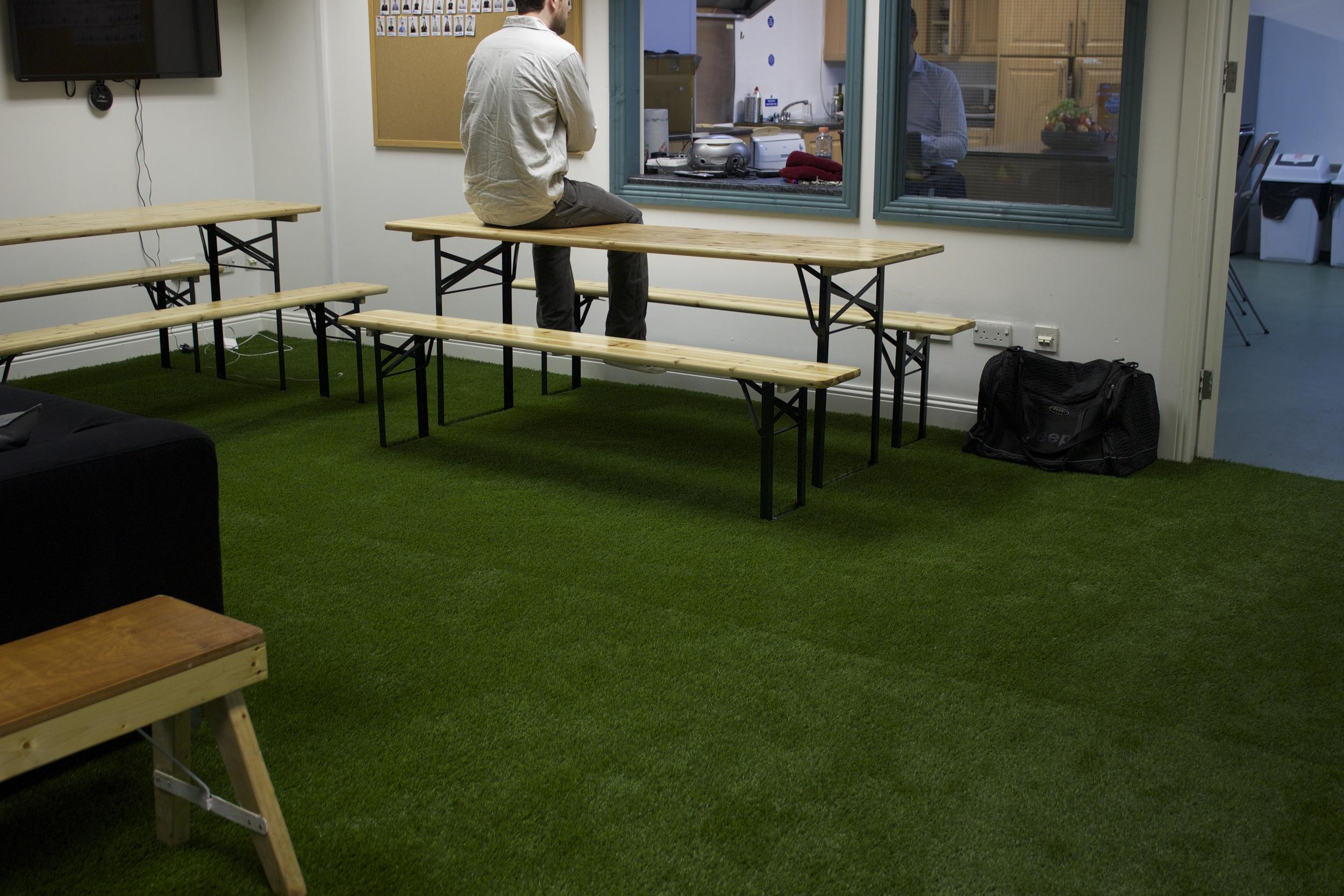 Team building leisure area