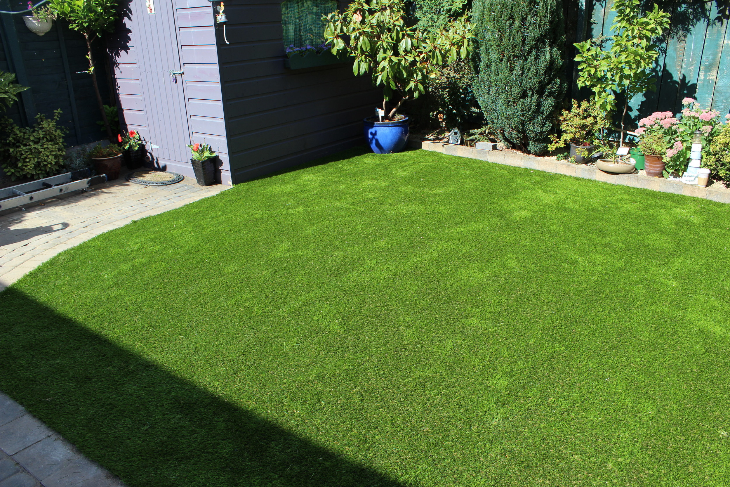 new astroturf lawn