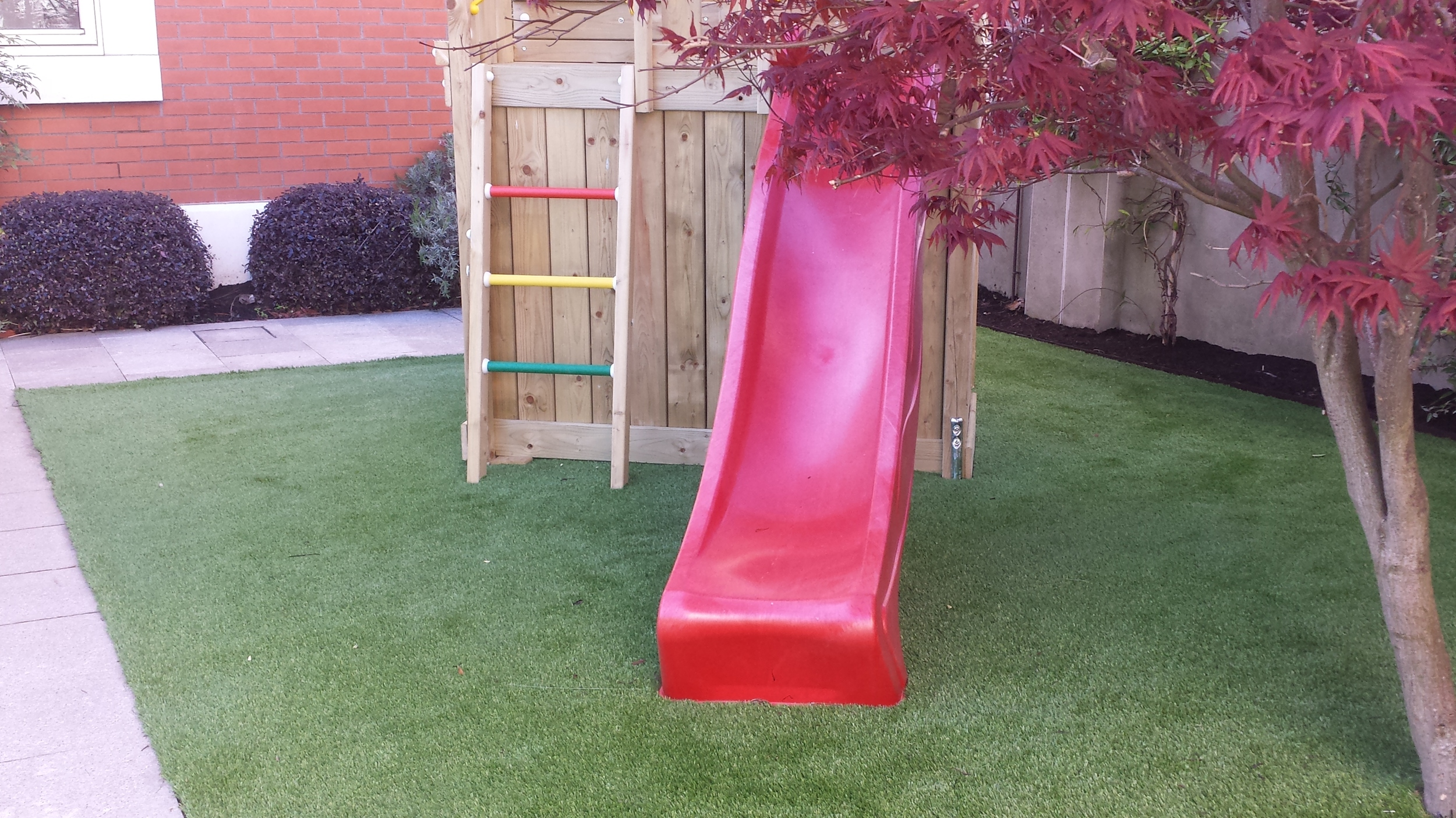Slide and Lawn