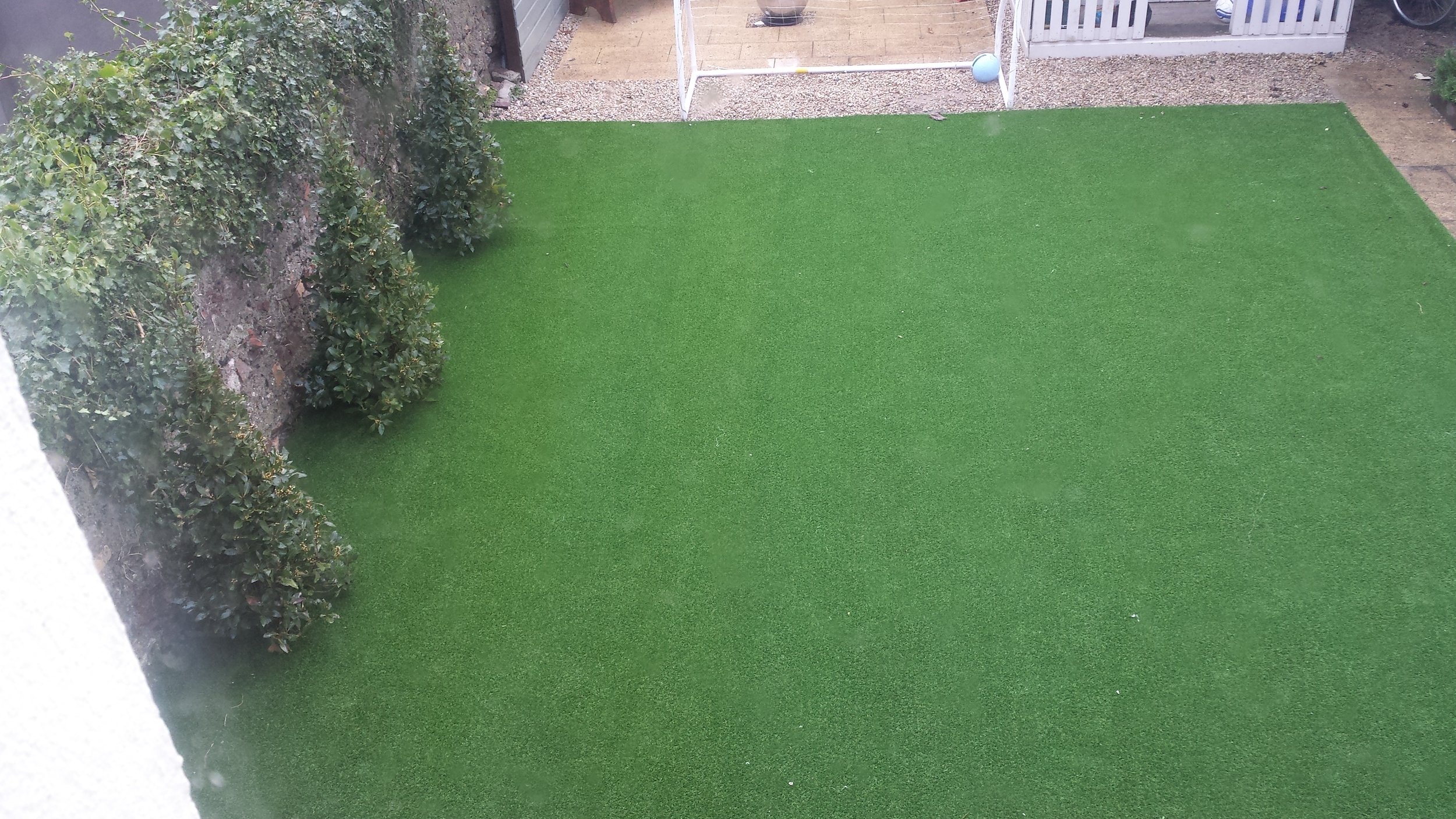 Artificial Grass in winter