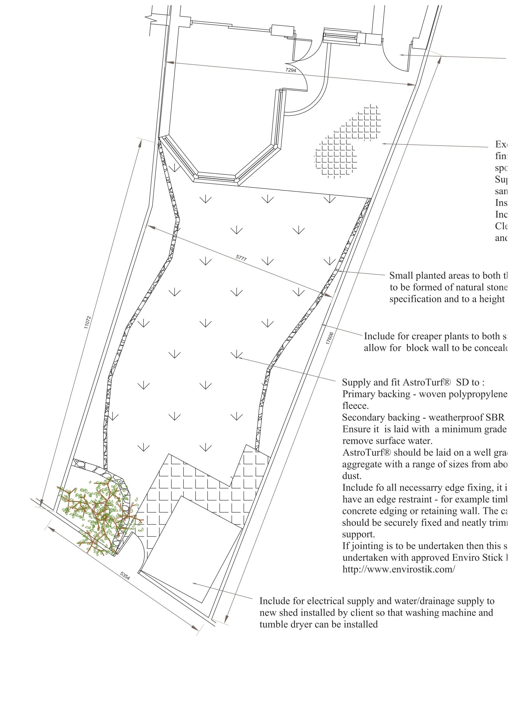 CAD Driveway Design