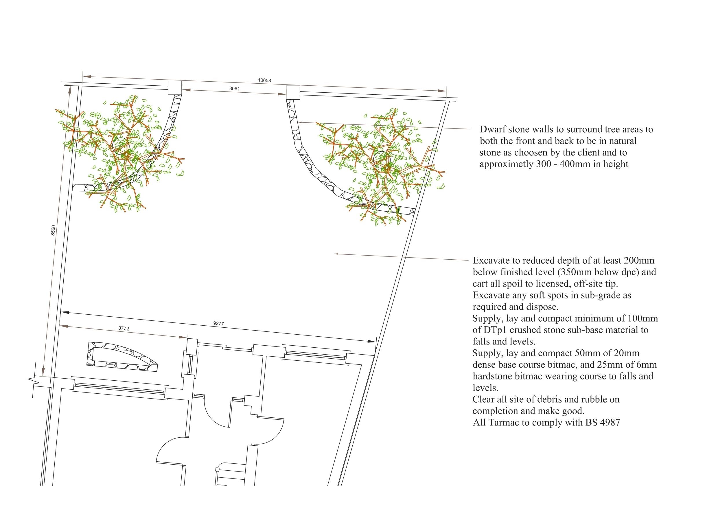Landscape Driveway Design