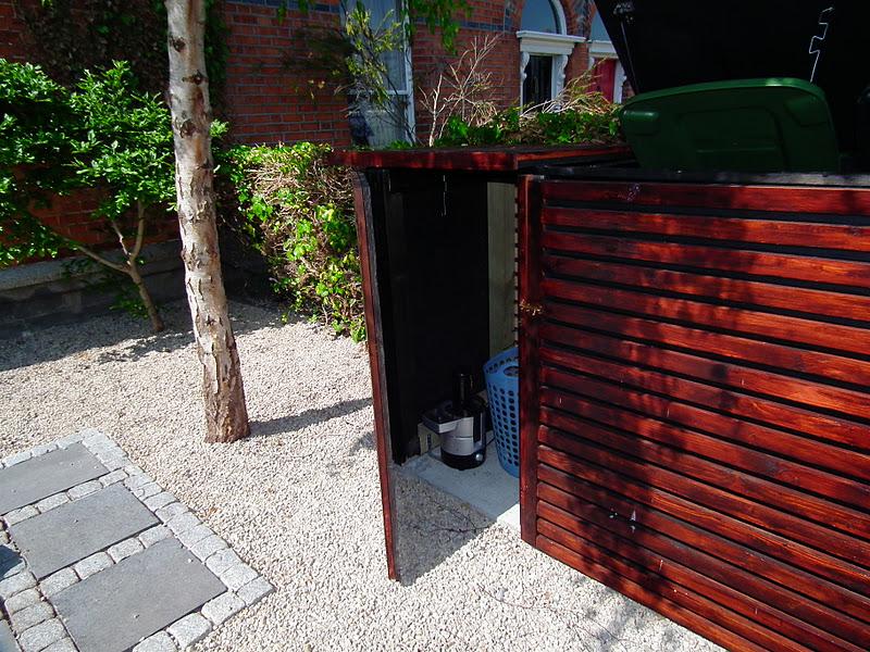Bin House for Wheelie bins