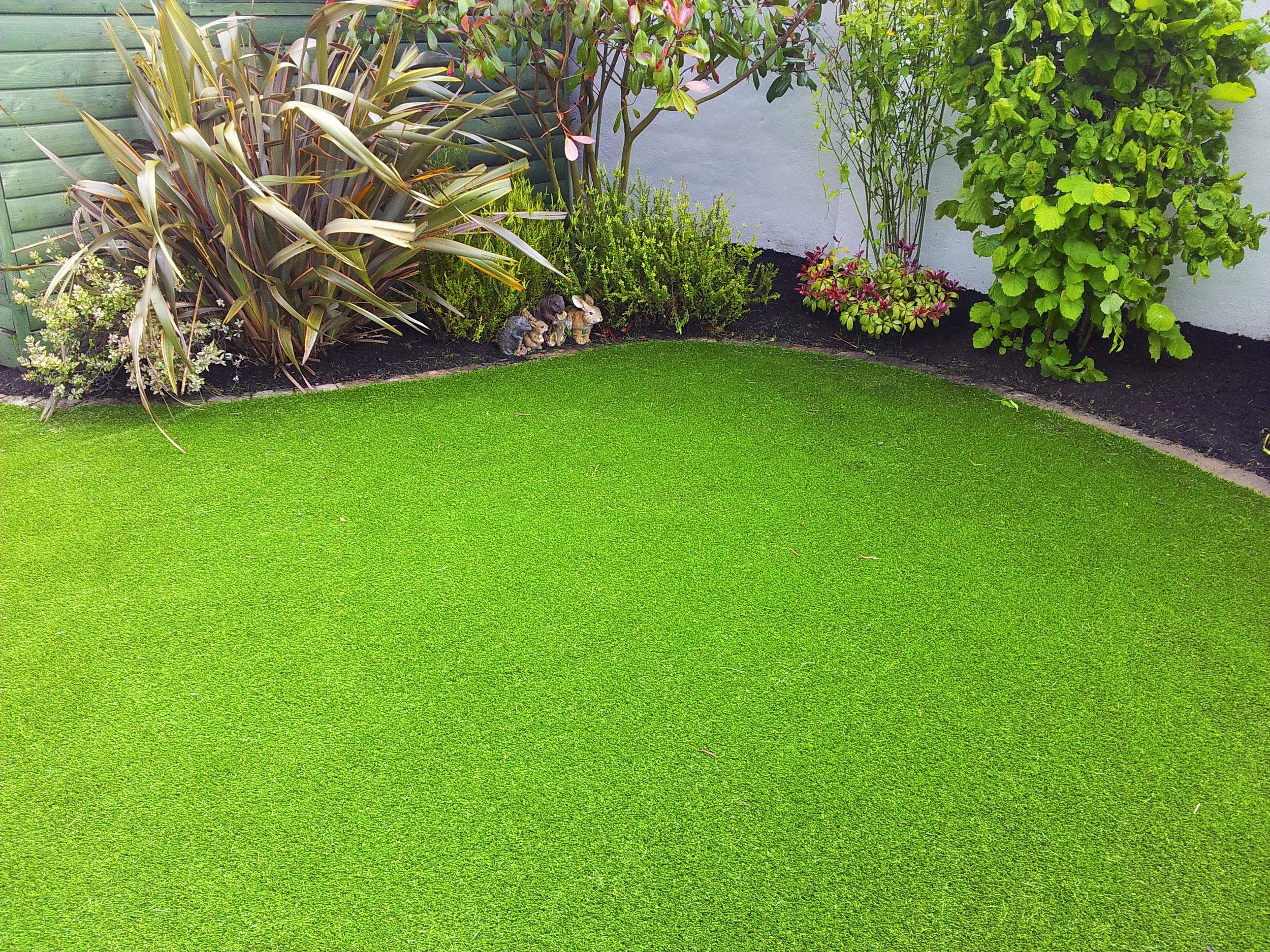 TigerTurf lawn transformation