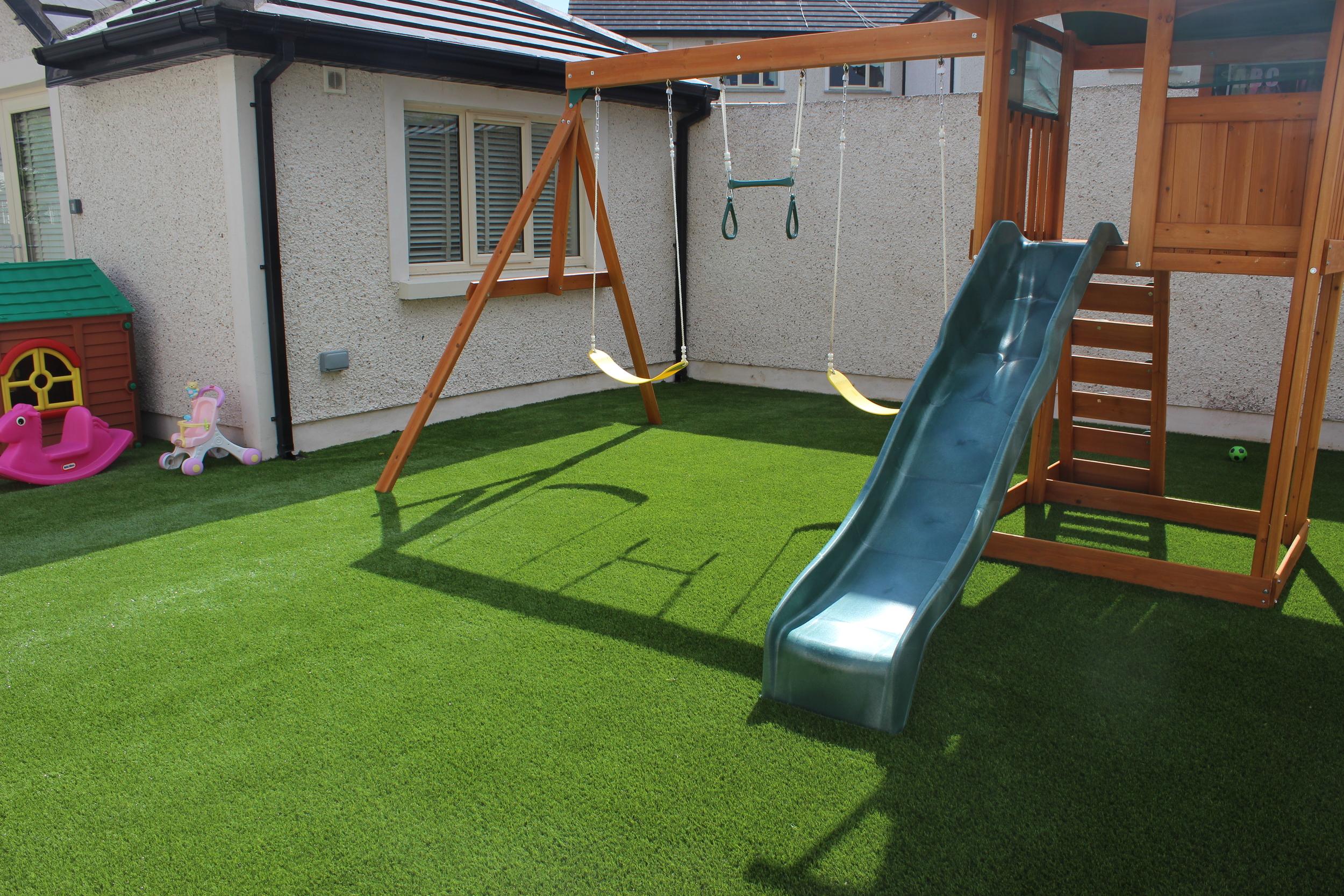 Garden Swing and Slide