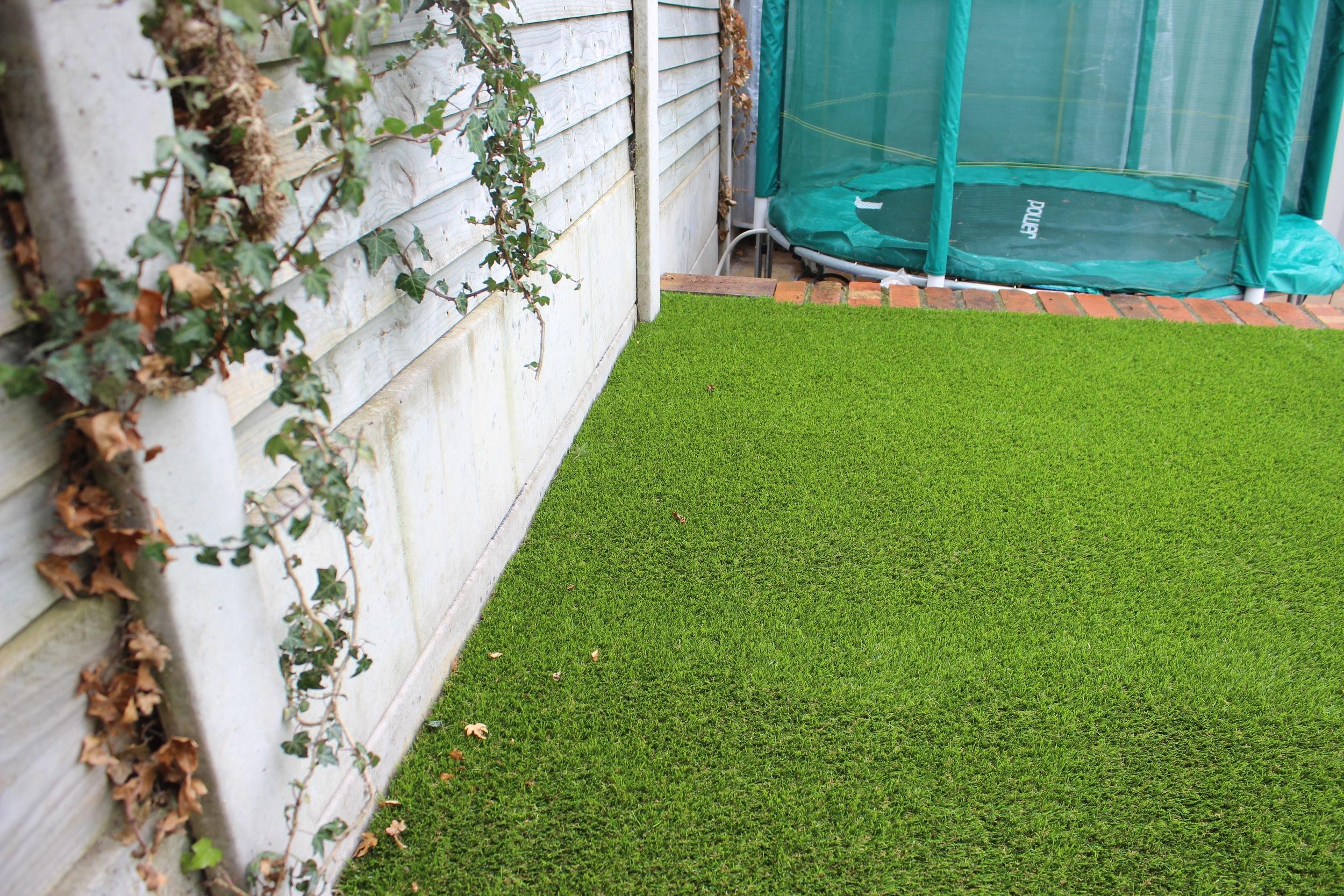 artificial 'astro-turf' grass