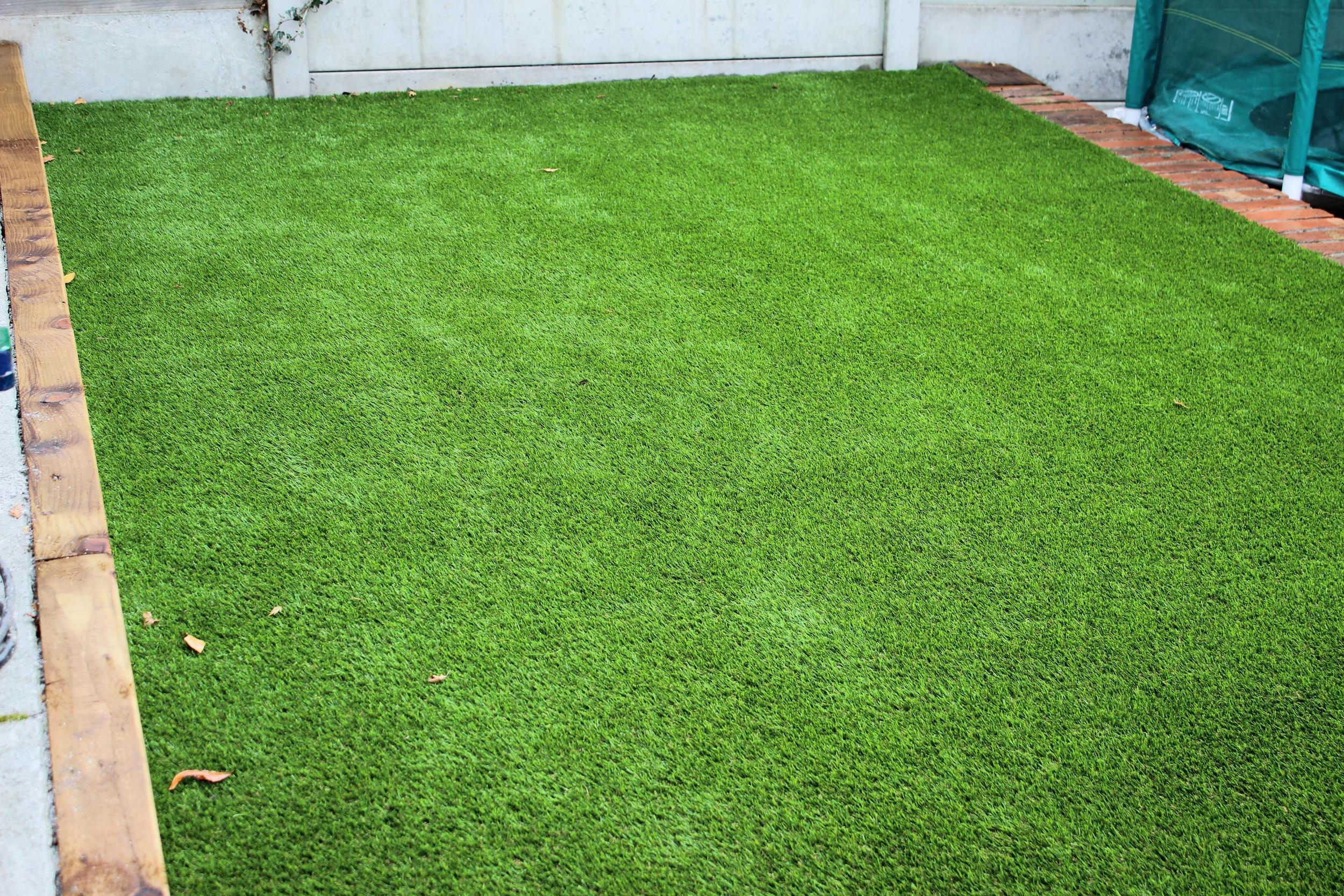 new astroturf lawn