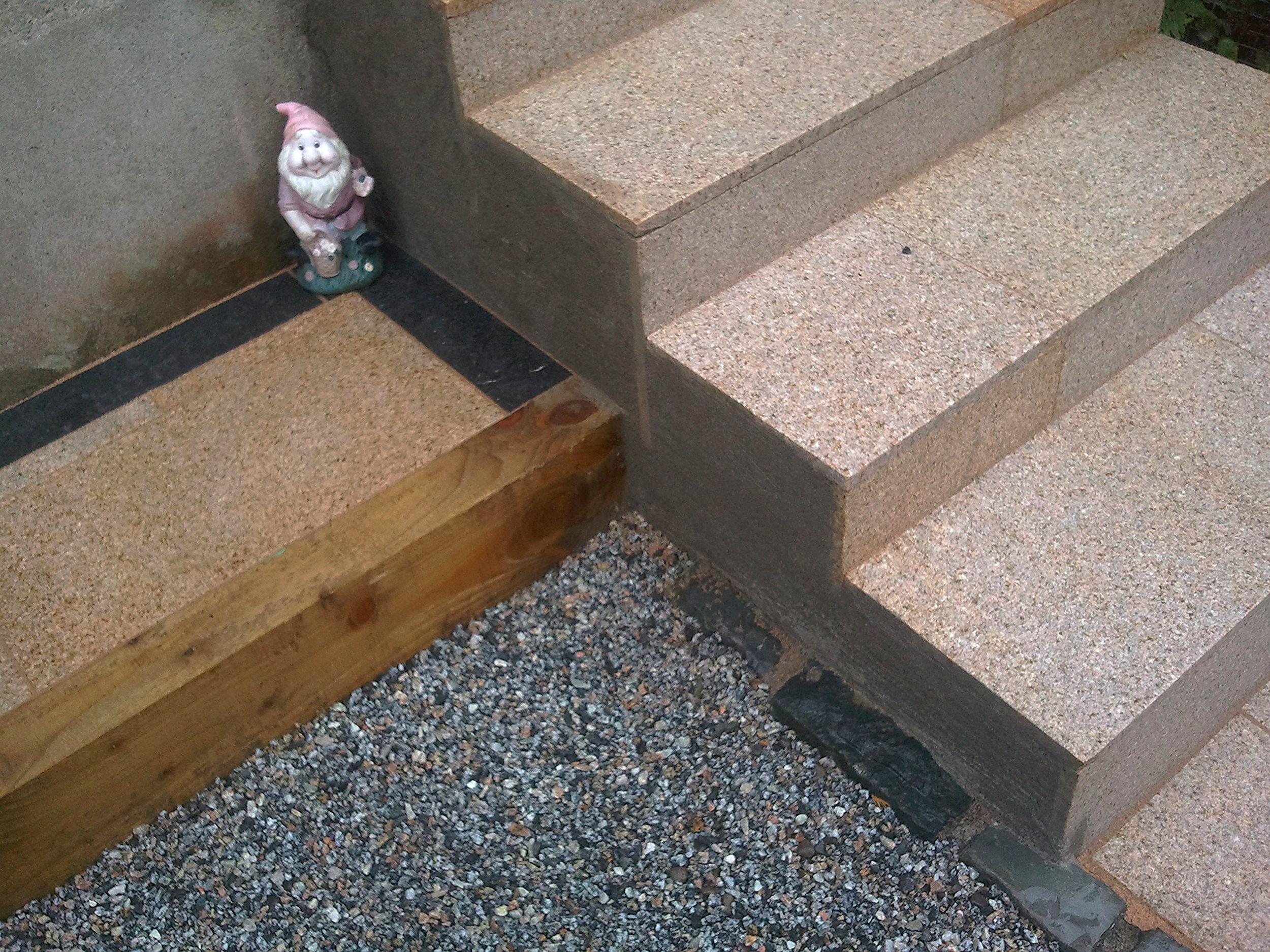 Landscaping Steps