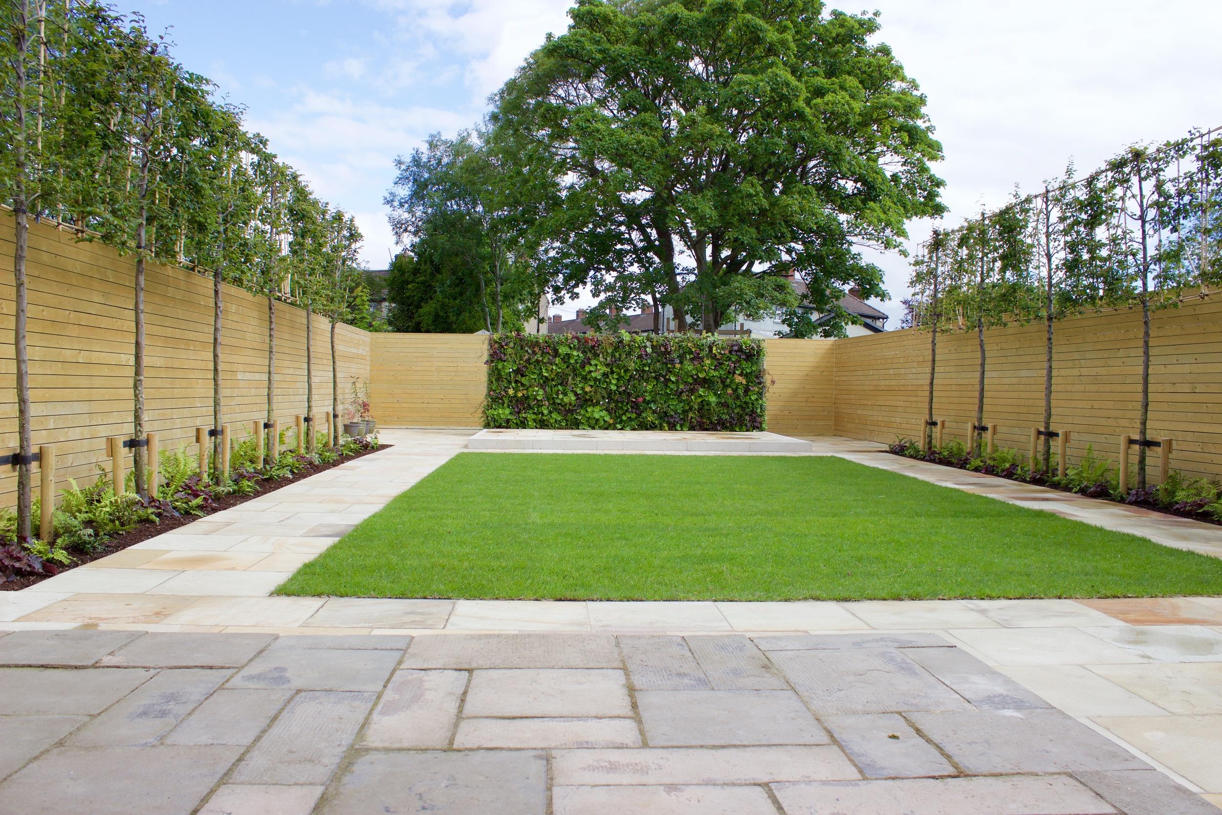 symmetrical Garden design