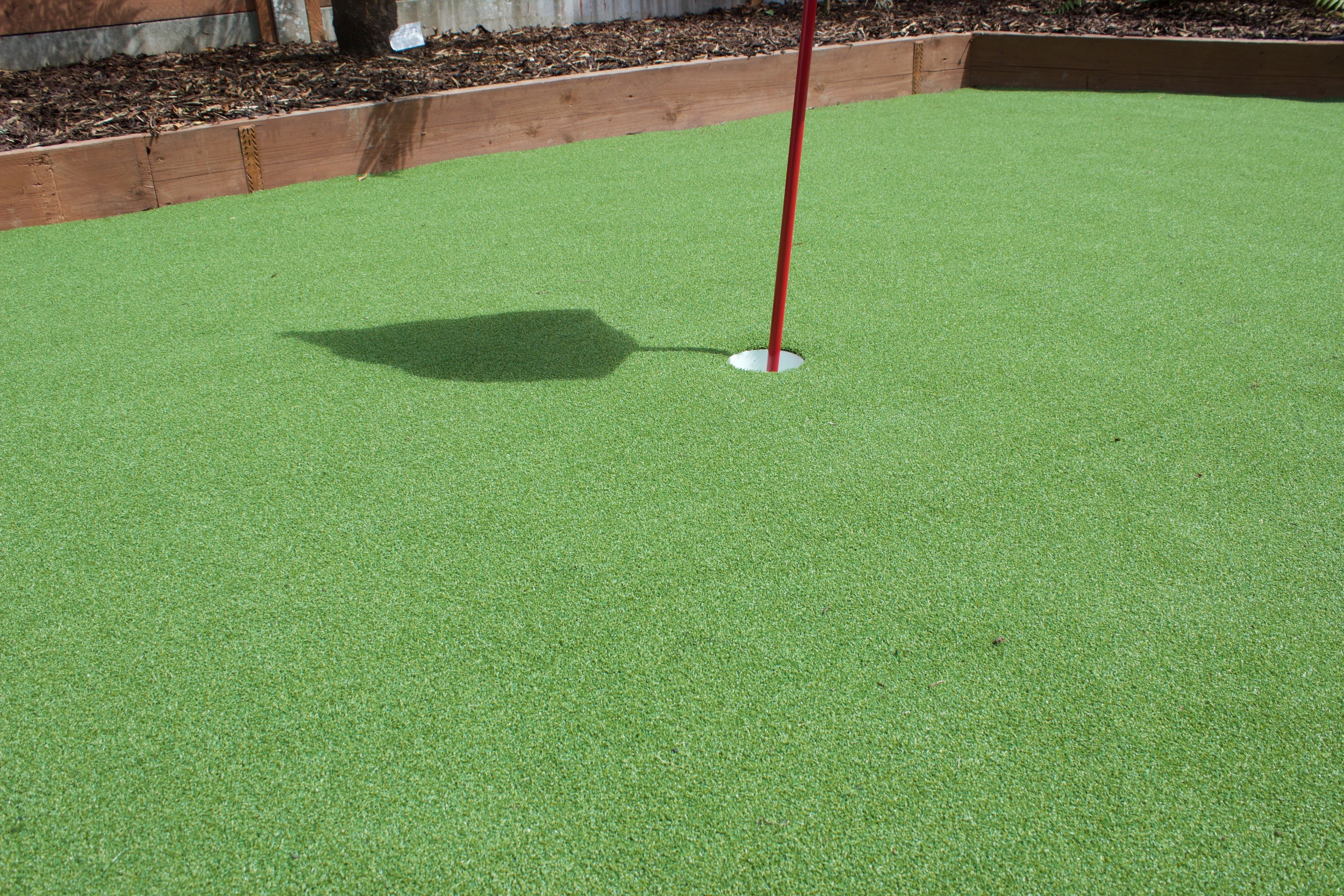 putting green installation