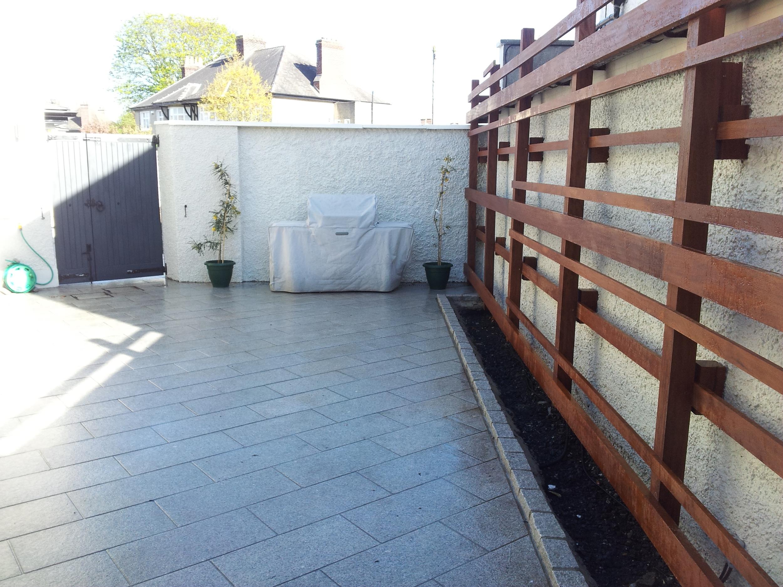 Granite Patio Design