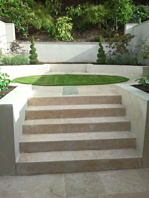 steps to Garden Terrace